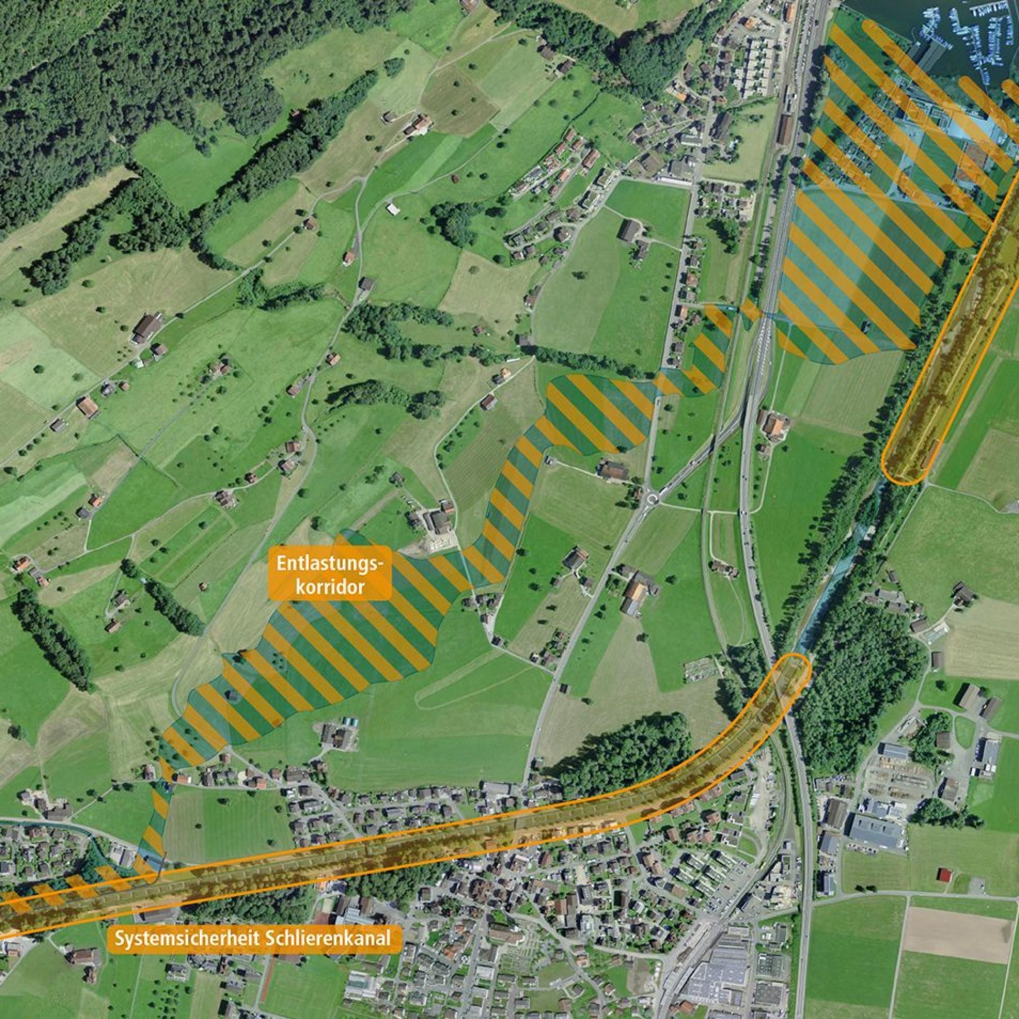 Hochwasserschutzprojekt Kleine Schliere Alpnach