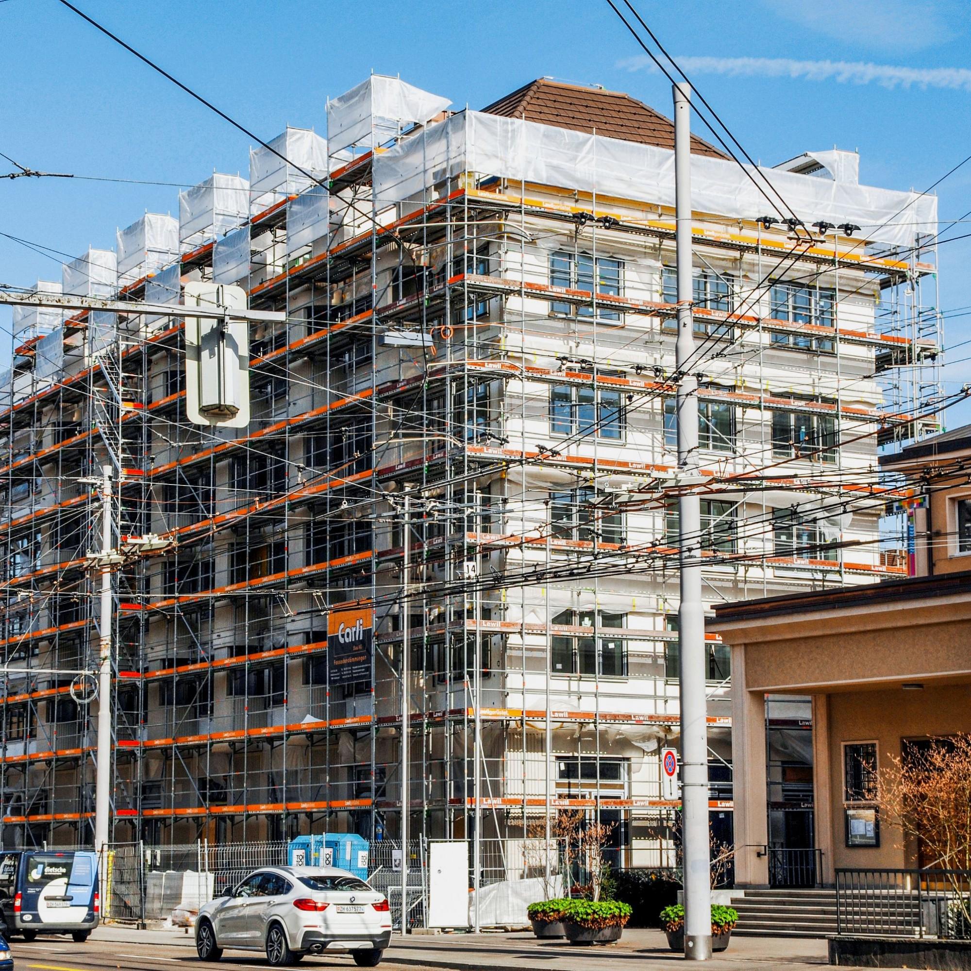 Ein Leuchtturmprojekt in Sachen Dämmung: Beim Neubau an der Stadtzürcher Hohlstrasse setzte die Dietrich Schwarz Architekten AG auf Aerogel-Hochleistungsdämmstoffe und Vakuumisoliergläser.