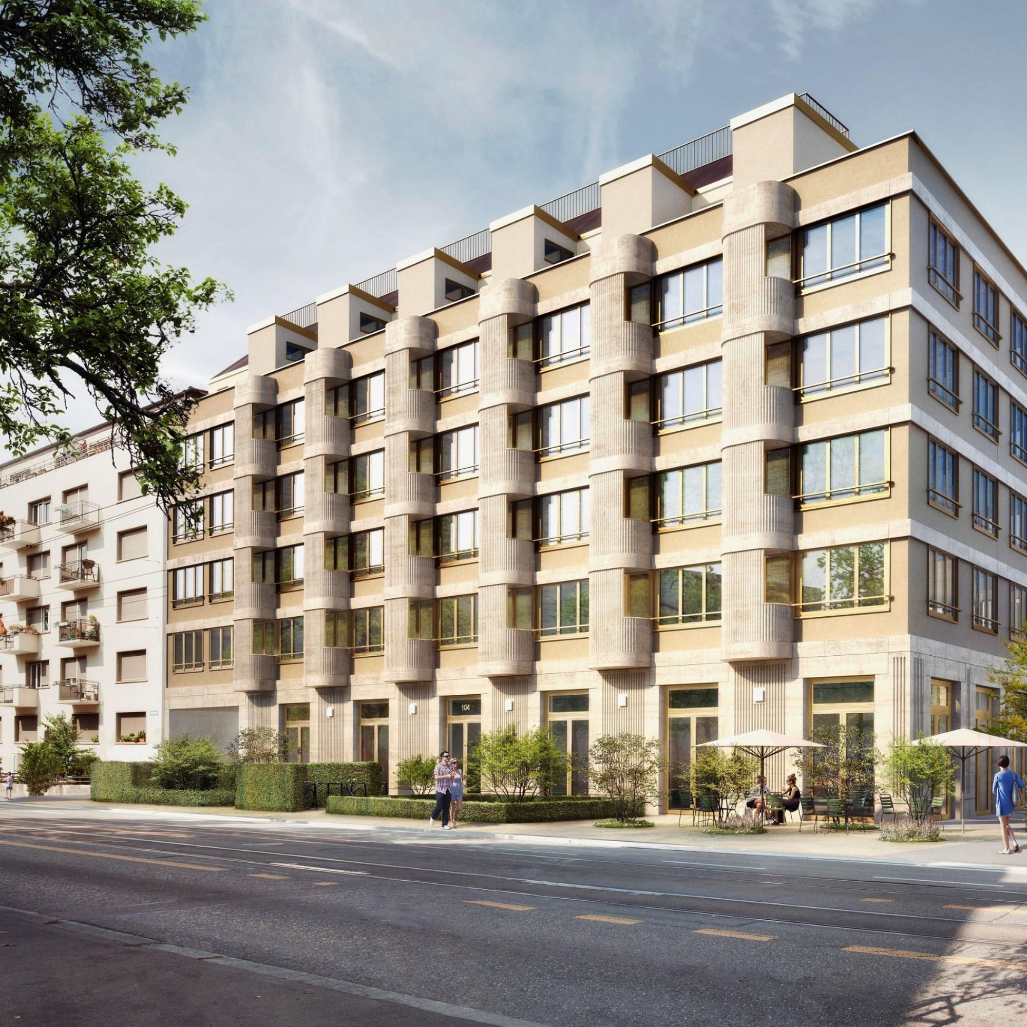 Dem Mehrfamilienhaus an der Hohlstrasse 100 in Zürich ist heute von aussen nicht anzusehen, welche Hightech-Dämmlösungen in ihm stecken