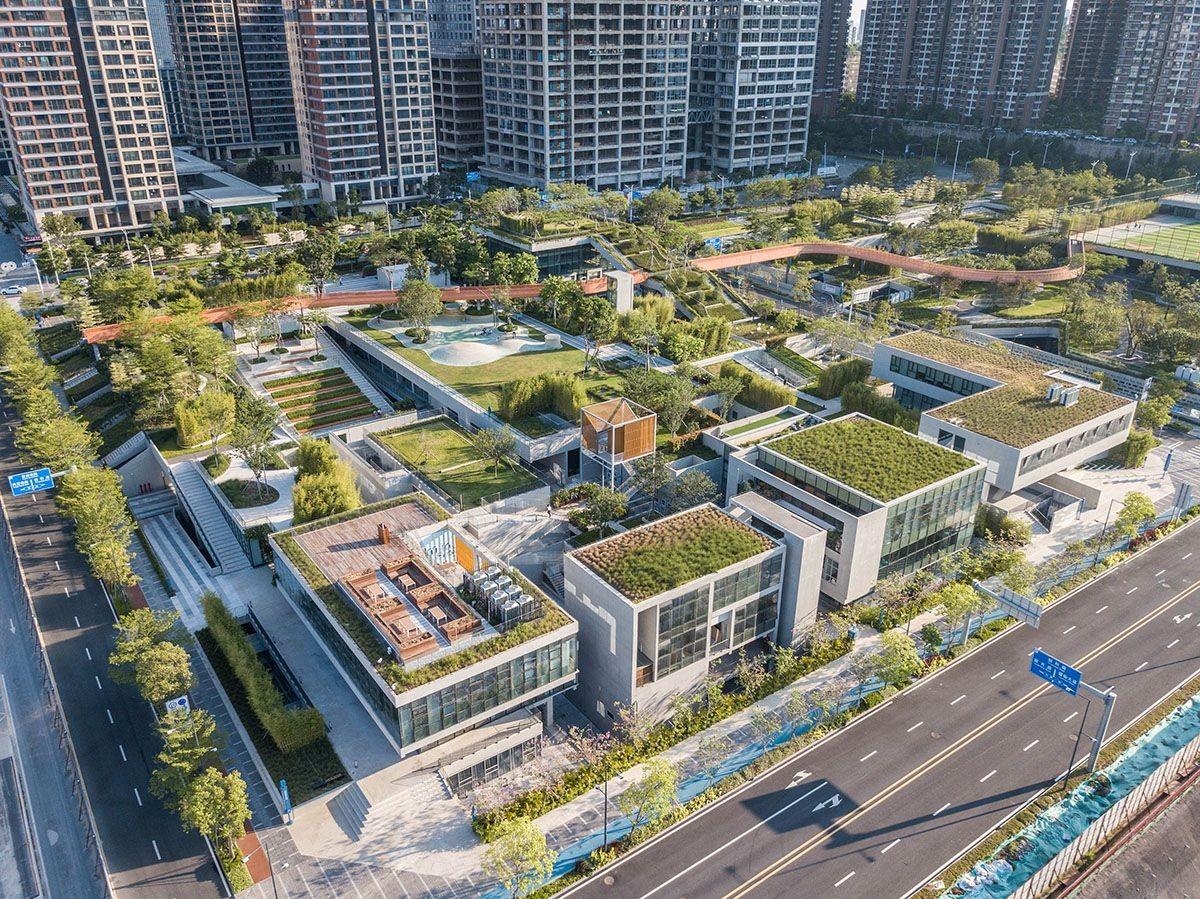 Vanke Liuxiandong Design Community Shenzhen China