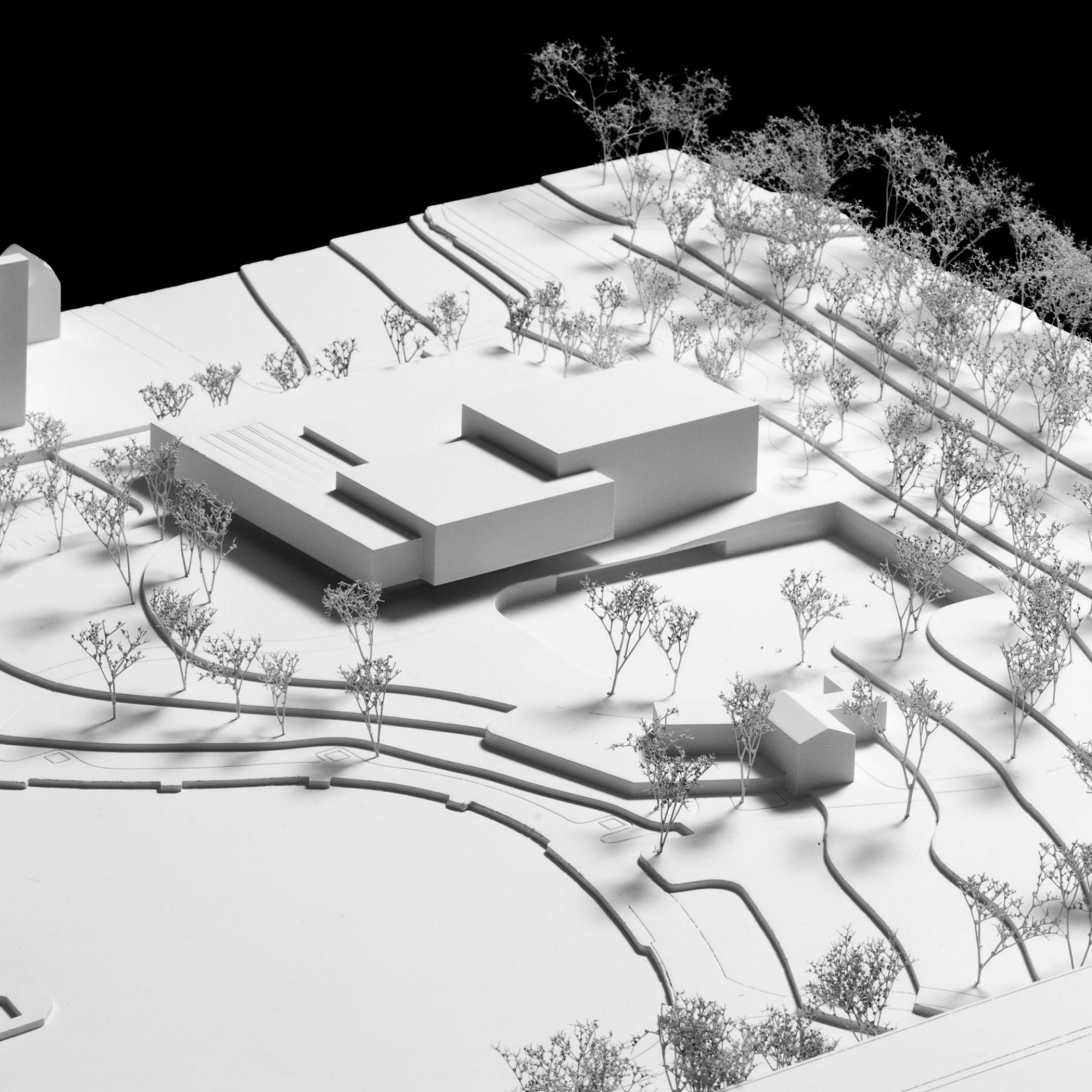 Modell Siegerprojekt Central Park