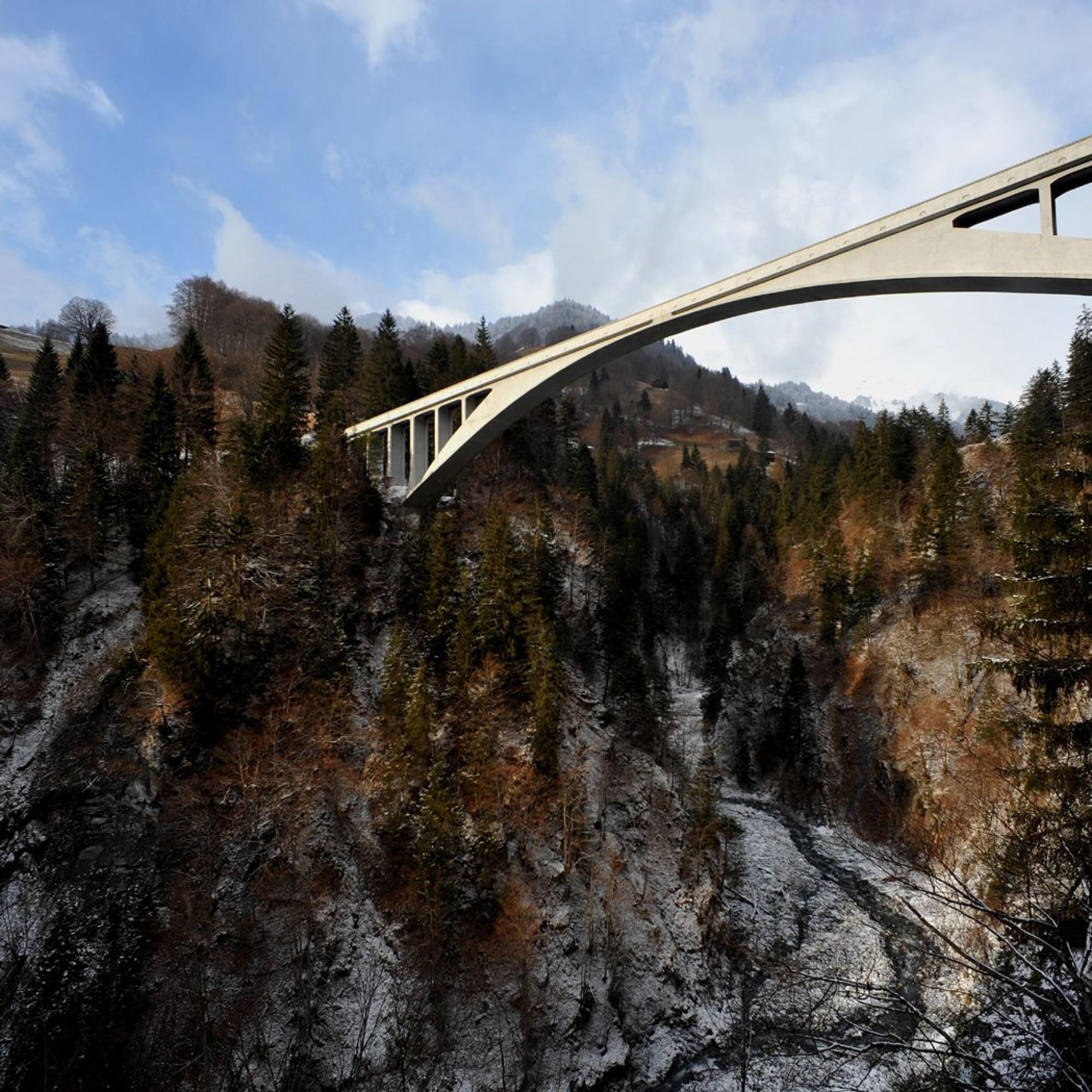Salginatobelbrücke.
