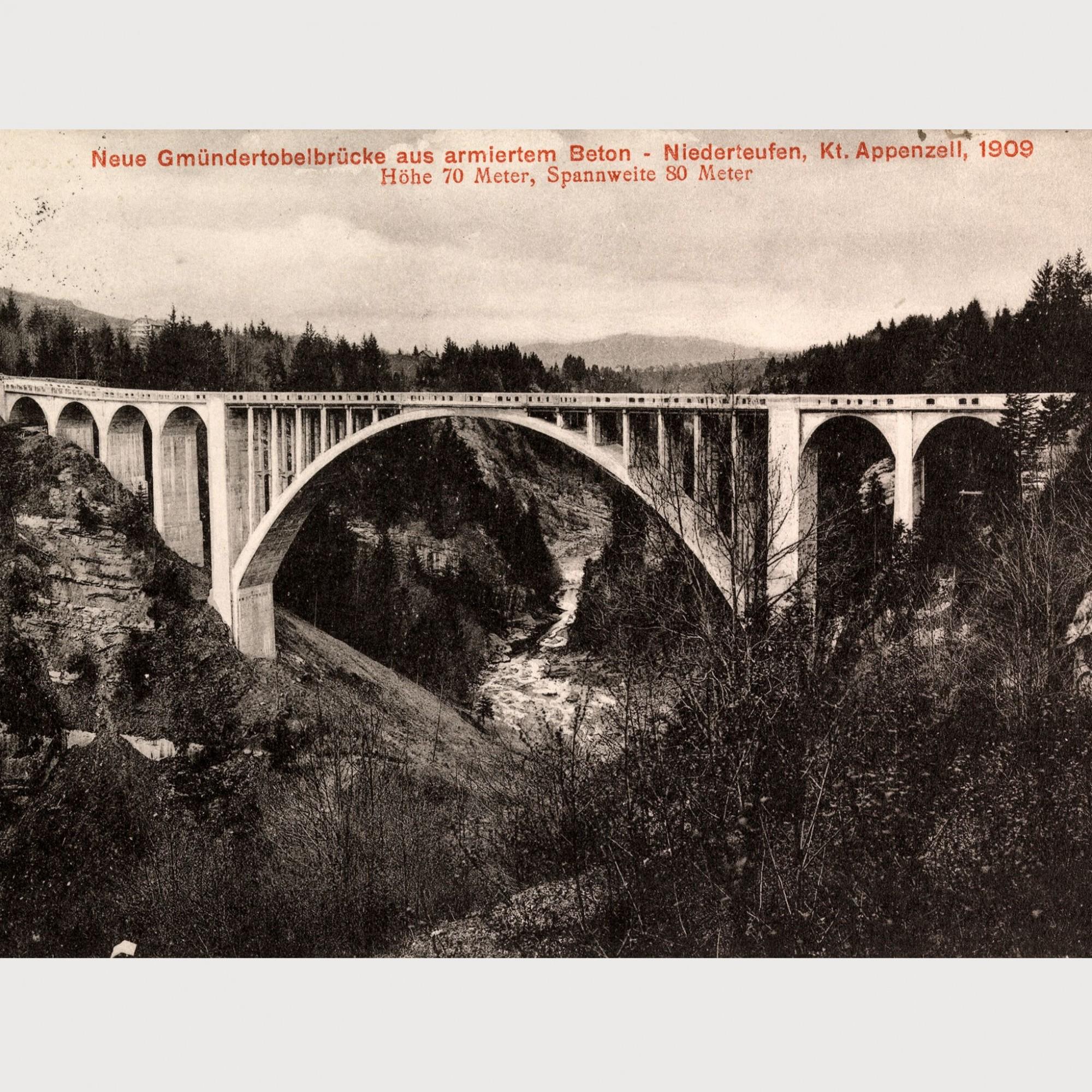 Gmündertobelbrücke.