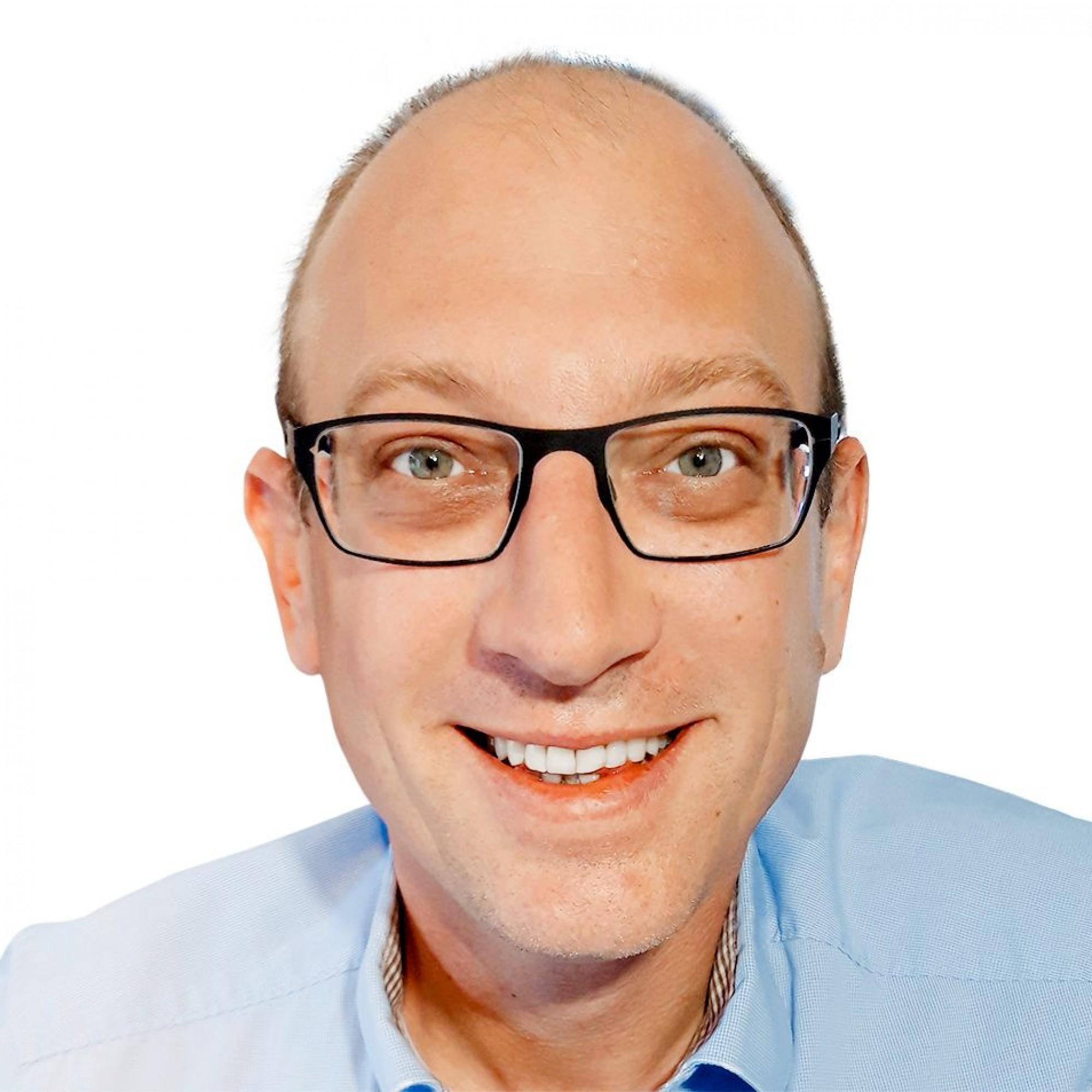 Bauingenieur und Consultant Dominik Schlatter