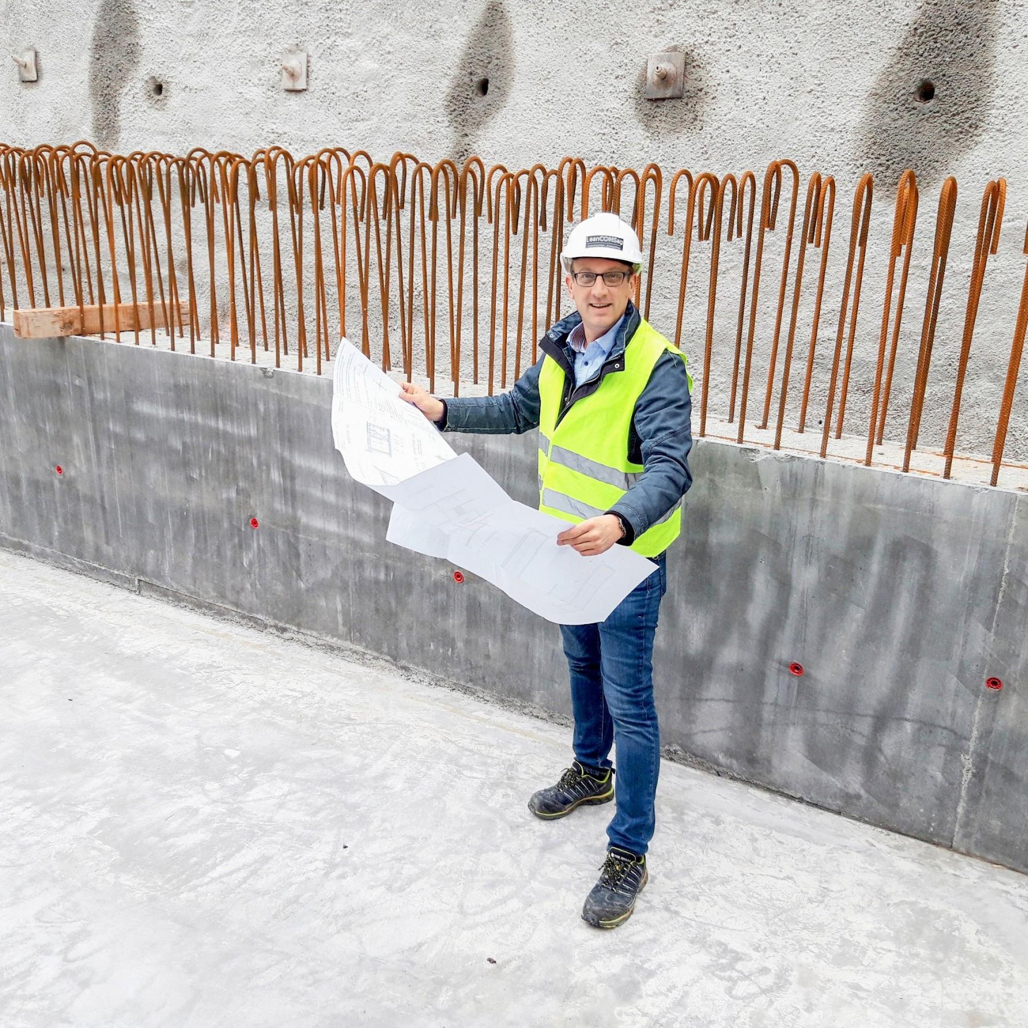 Dominik Schlatter,«Lean Construction»-Experte und selbstständiger Berater