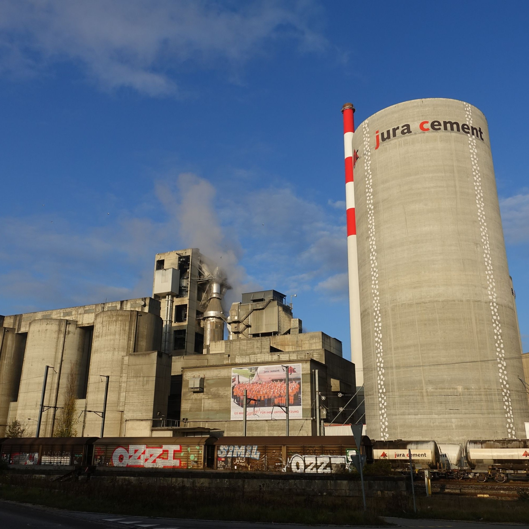 Jura-Cement-Fabriken AG in Wildegg AG,