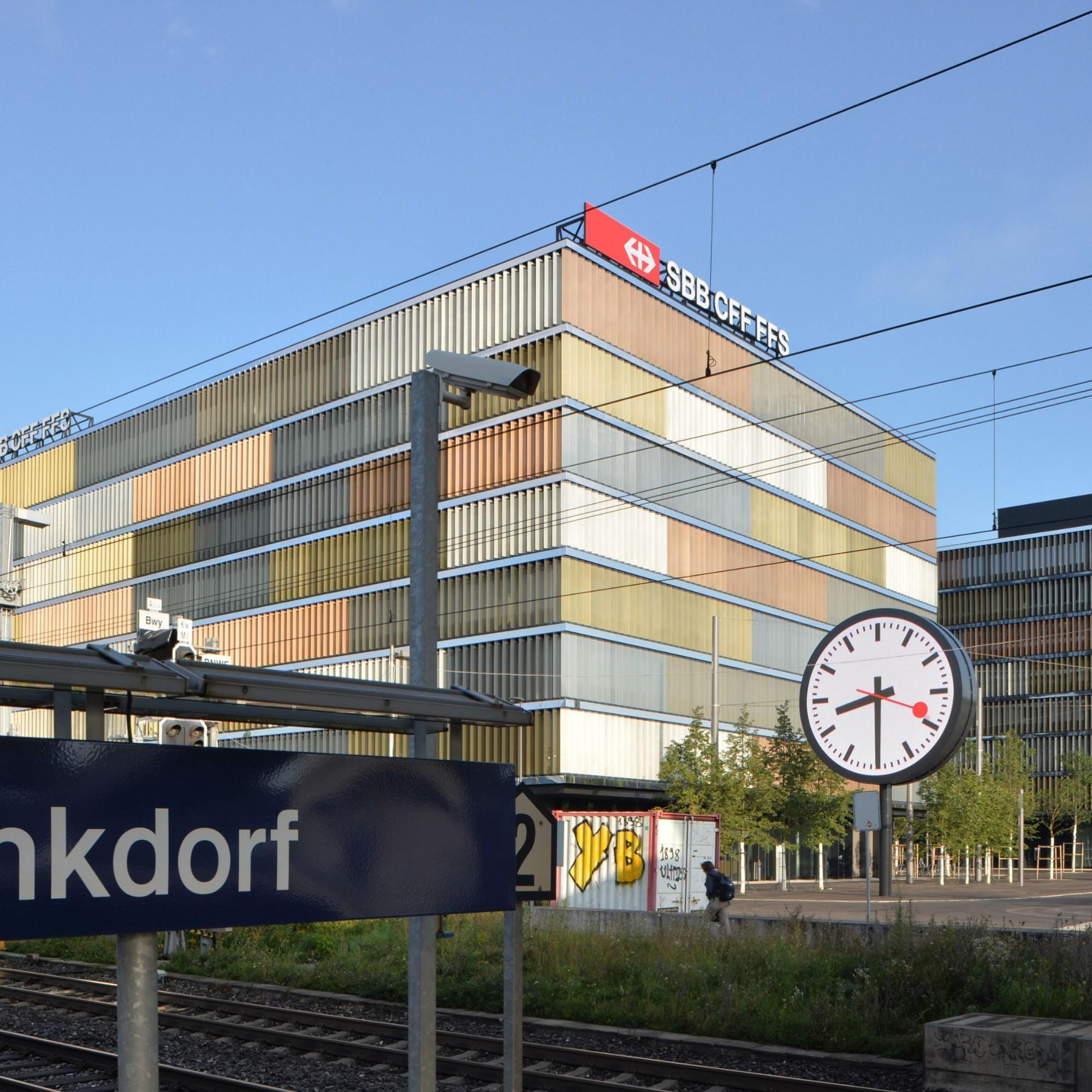 Hauptsitz der SBB im Gebiet Wankdorf in Bern