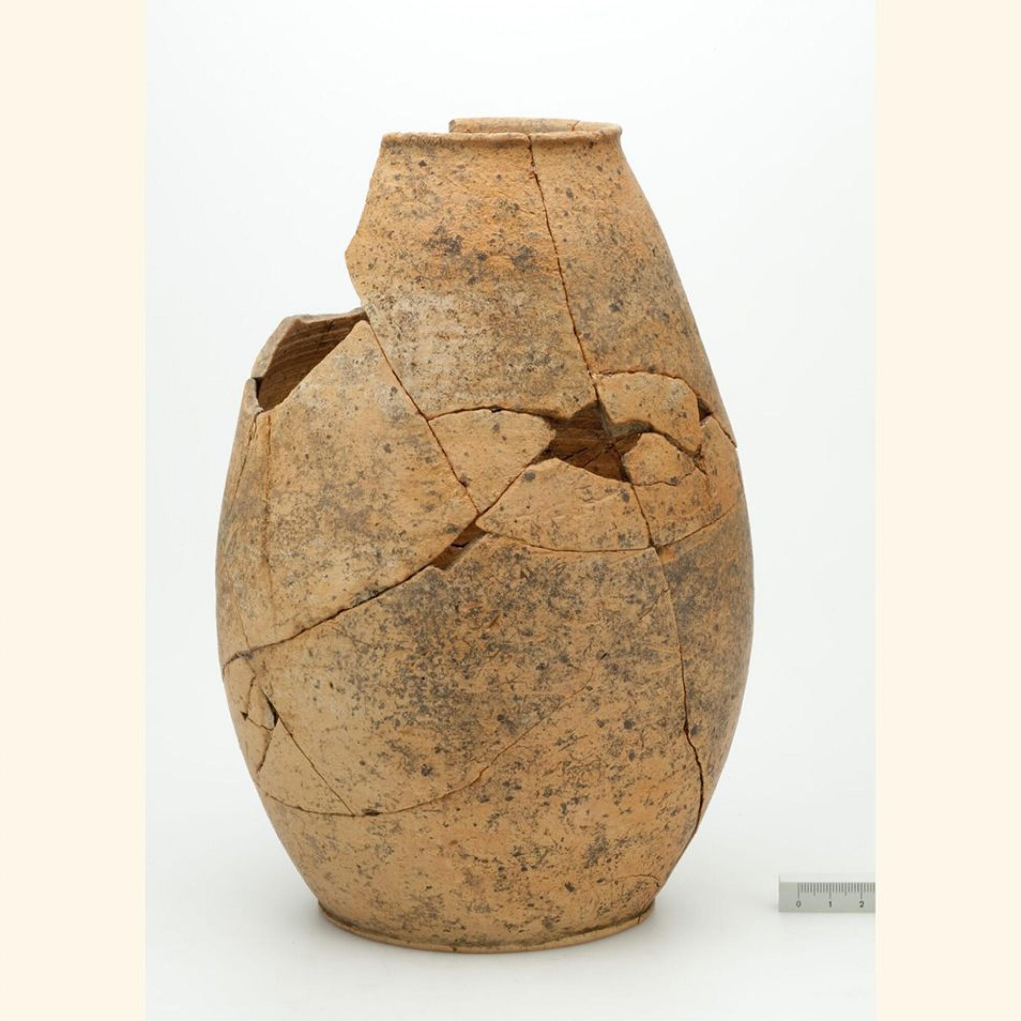 Rekonstruierte Urne
