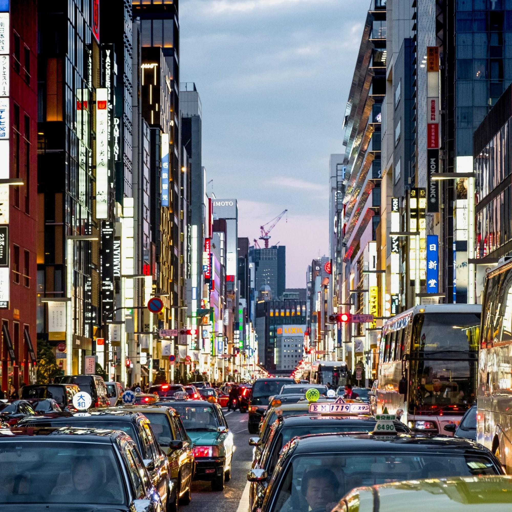 Von den Verhältnissen wie diesen in Tokio ist man in der Schweiz noch weit entfernt.
