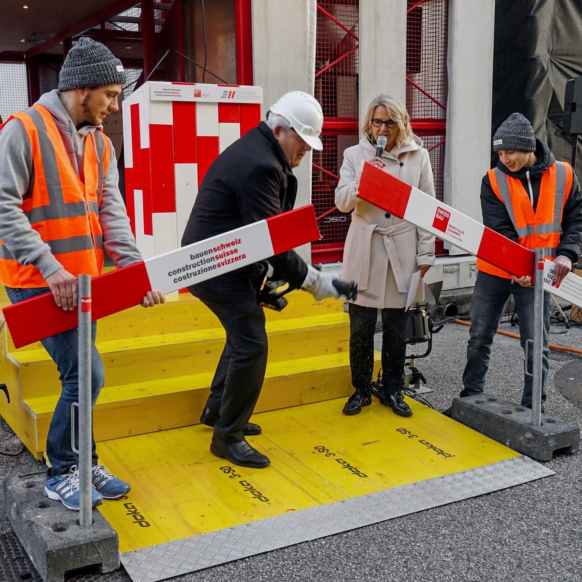 Eröffnung Swissbau 2020