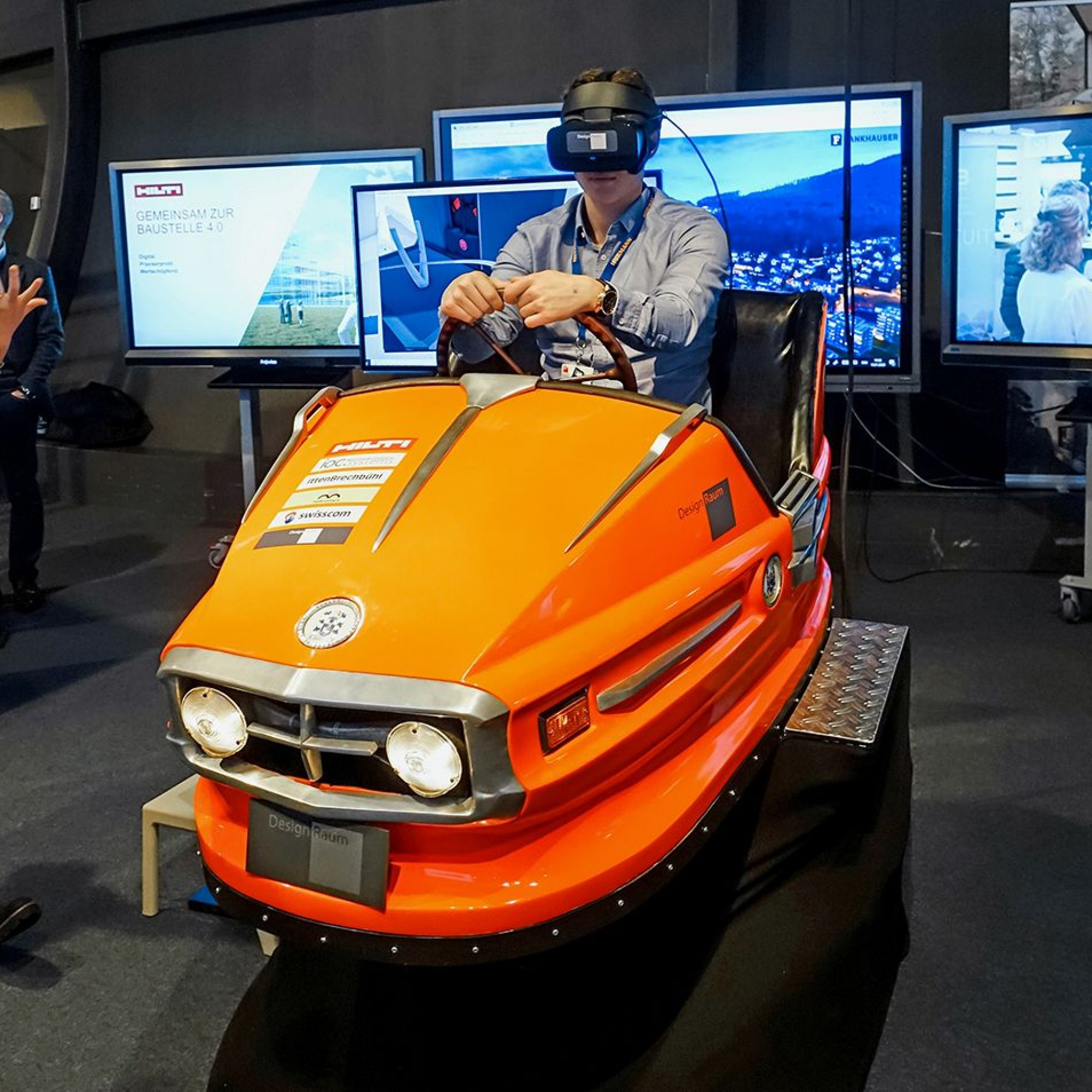 VR-Brille Swissbau 2020