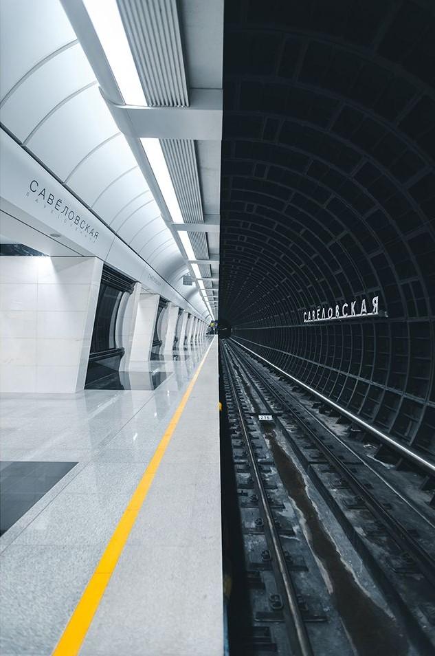 Metro-Station Sawjolowskaja Russland