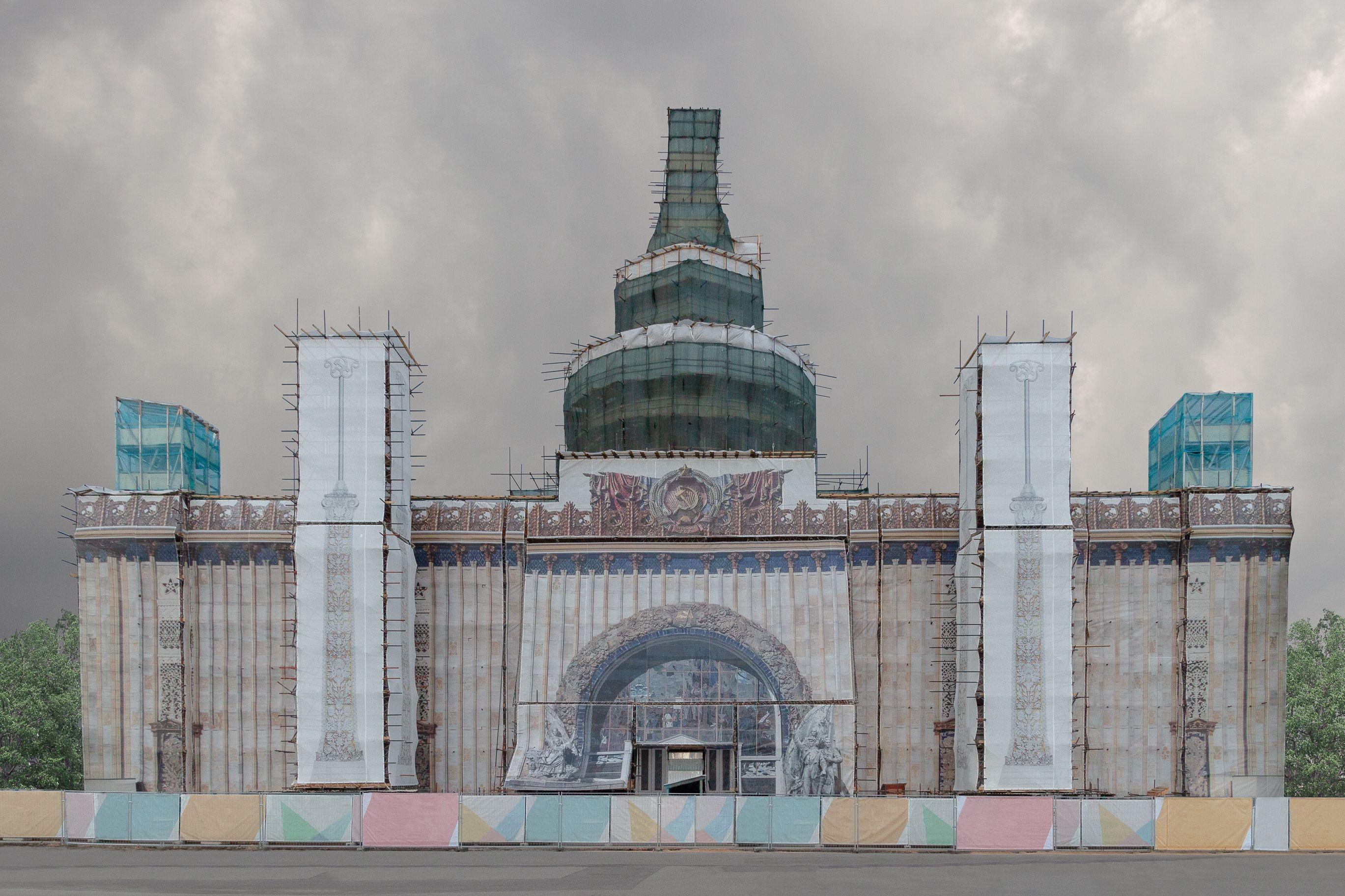 Renovation eines Gebäudes in Russland