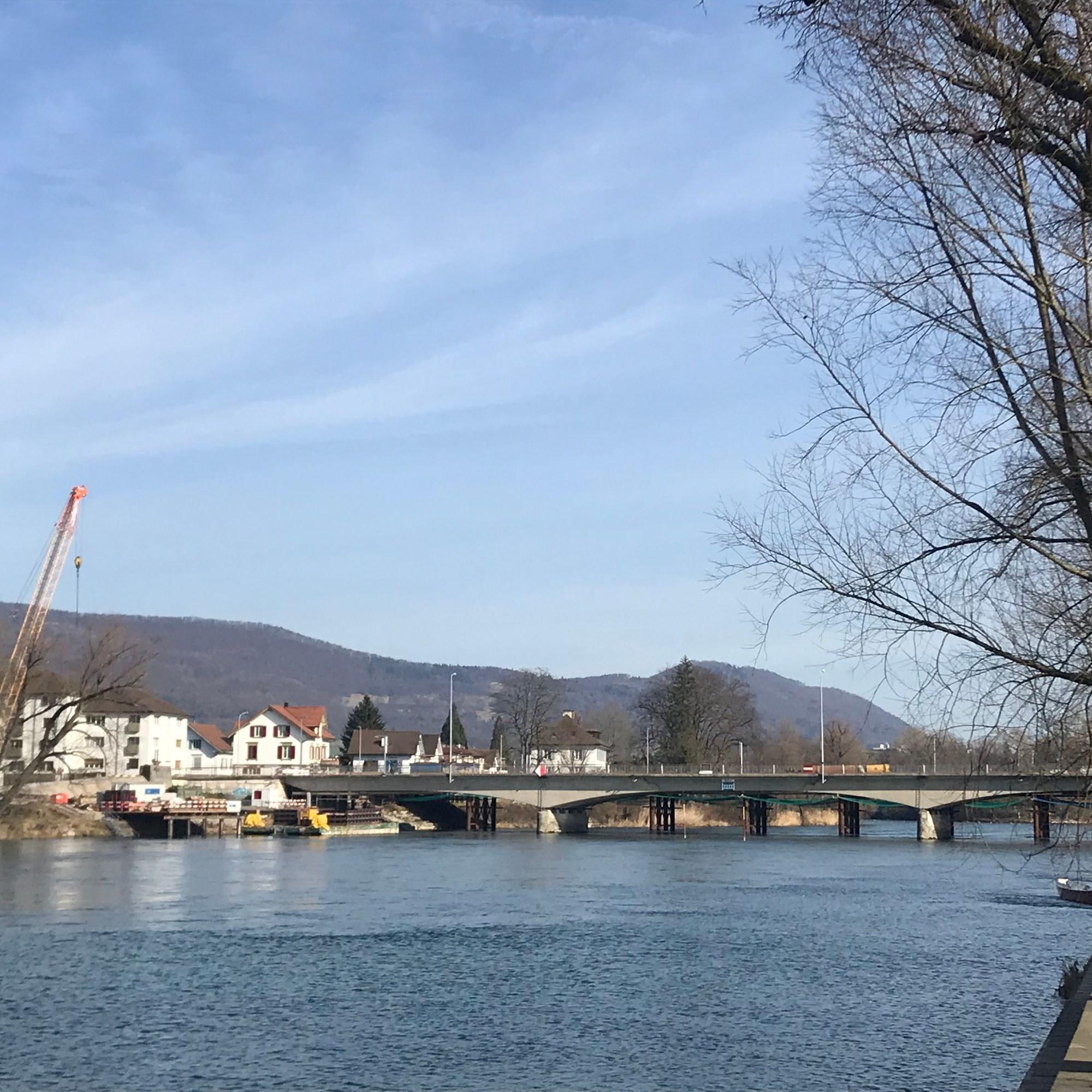 Baustelle Kettenbrücke