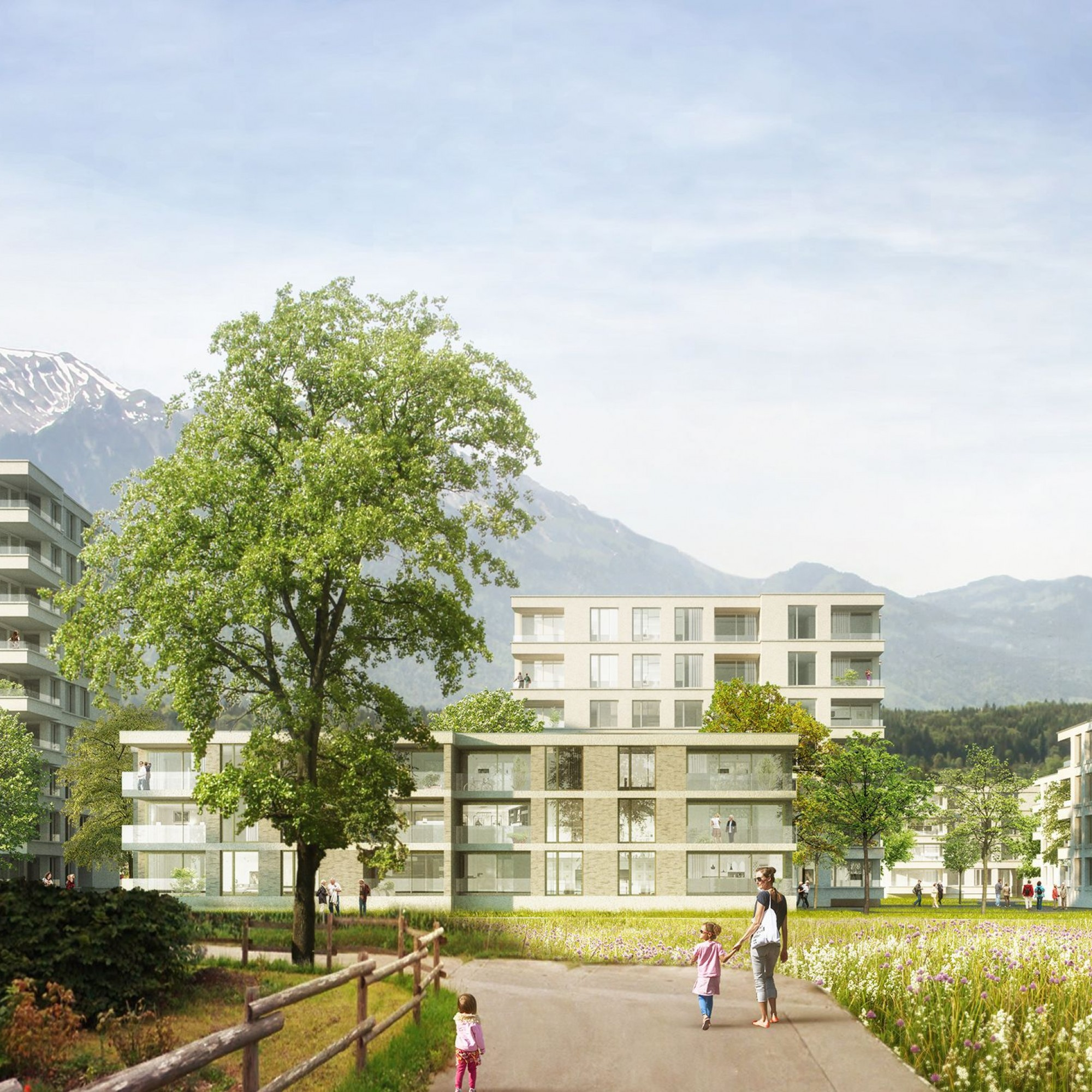 Überbauung Hofmatte in Thun.