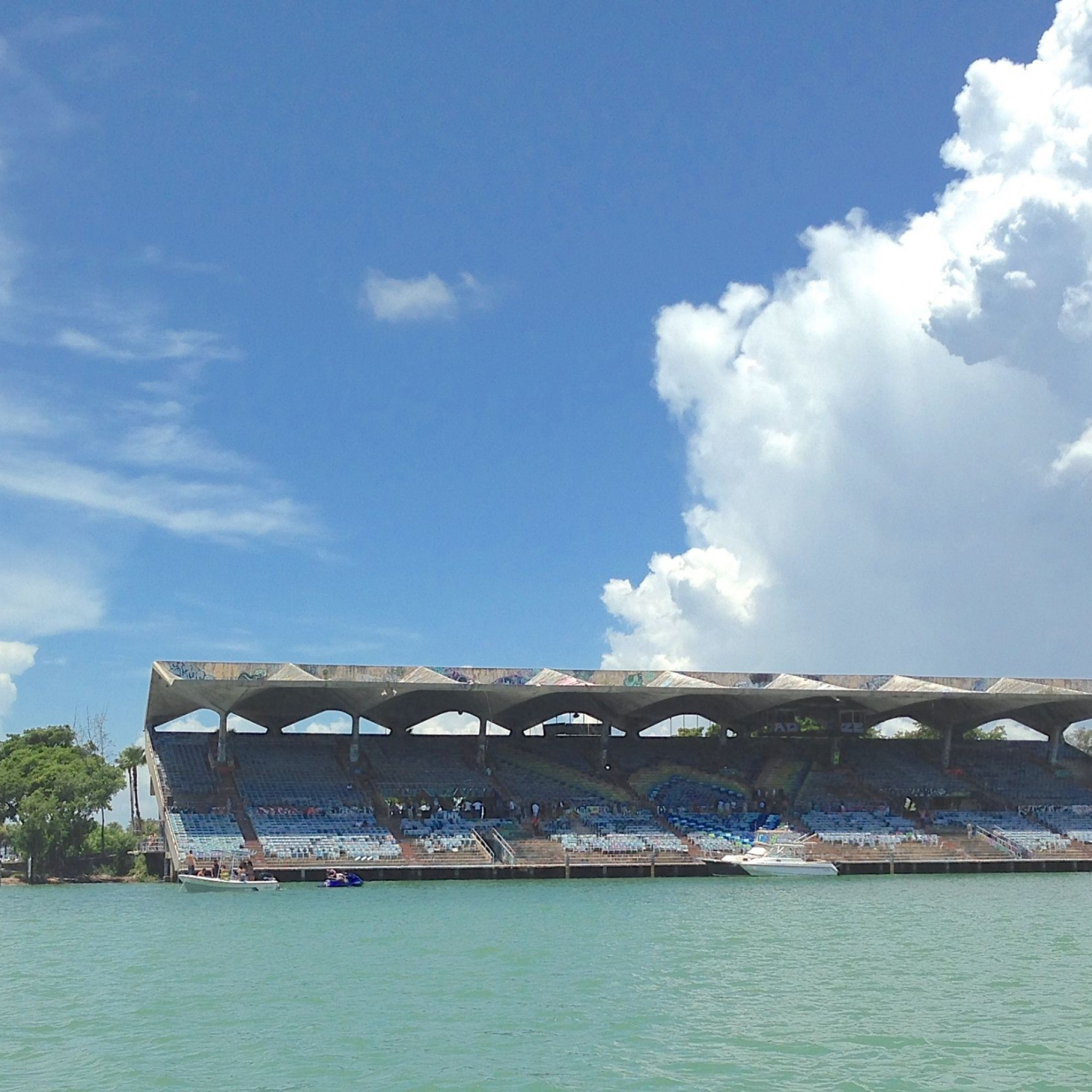 Miami Marine Stadium Florida