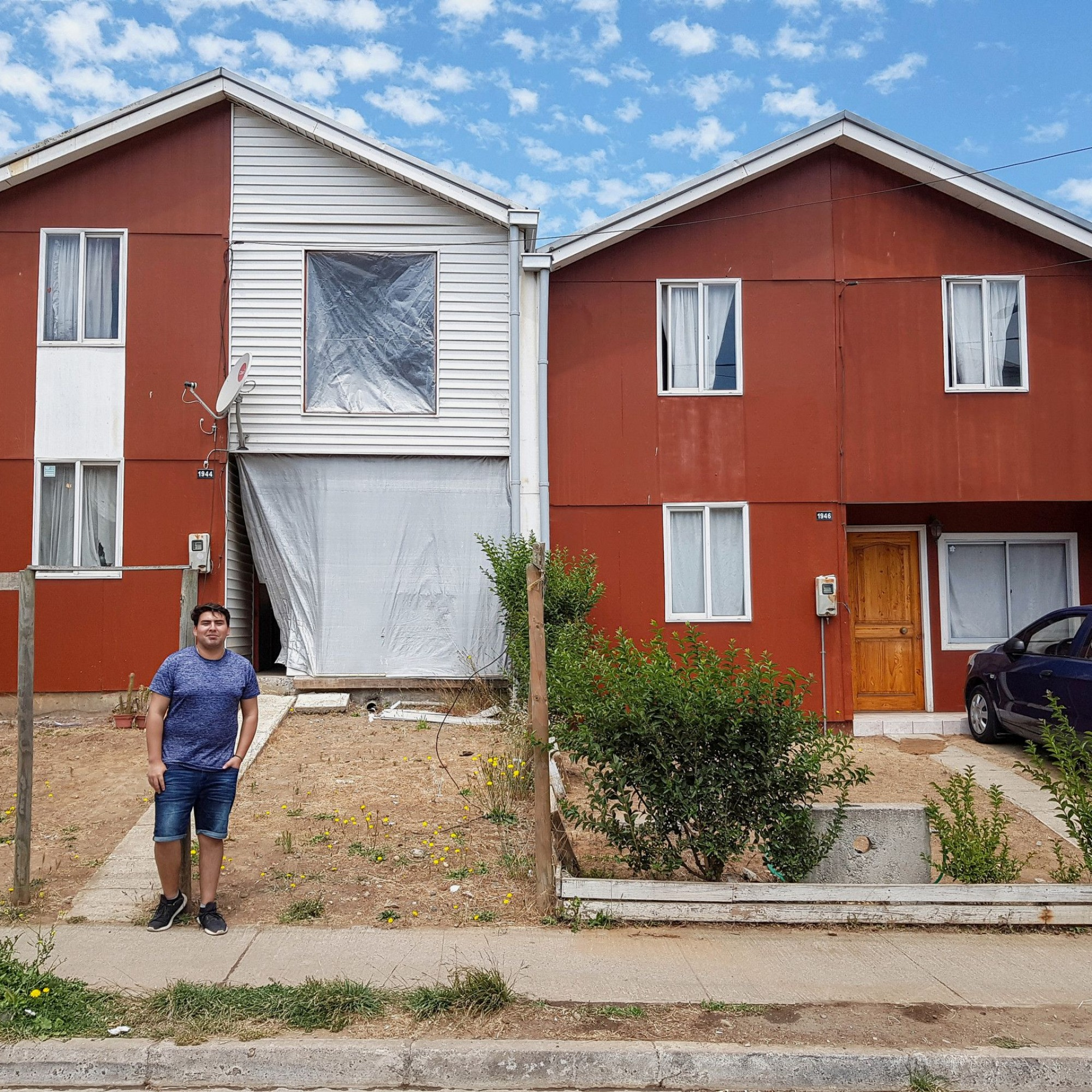 Sozialsiedlung Villa Verde in Chile