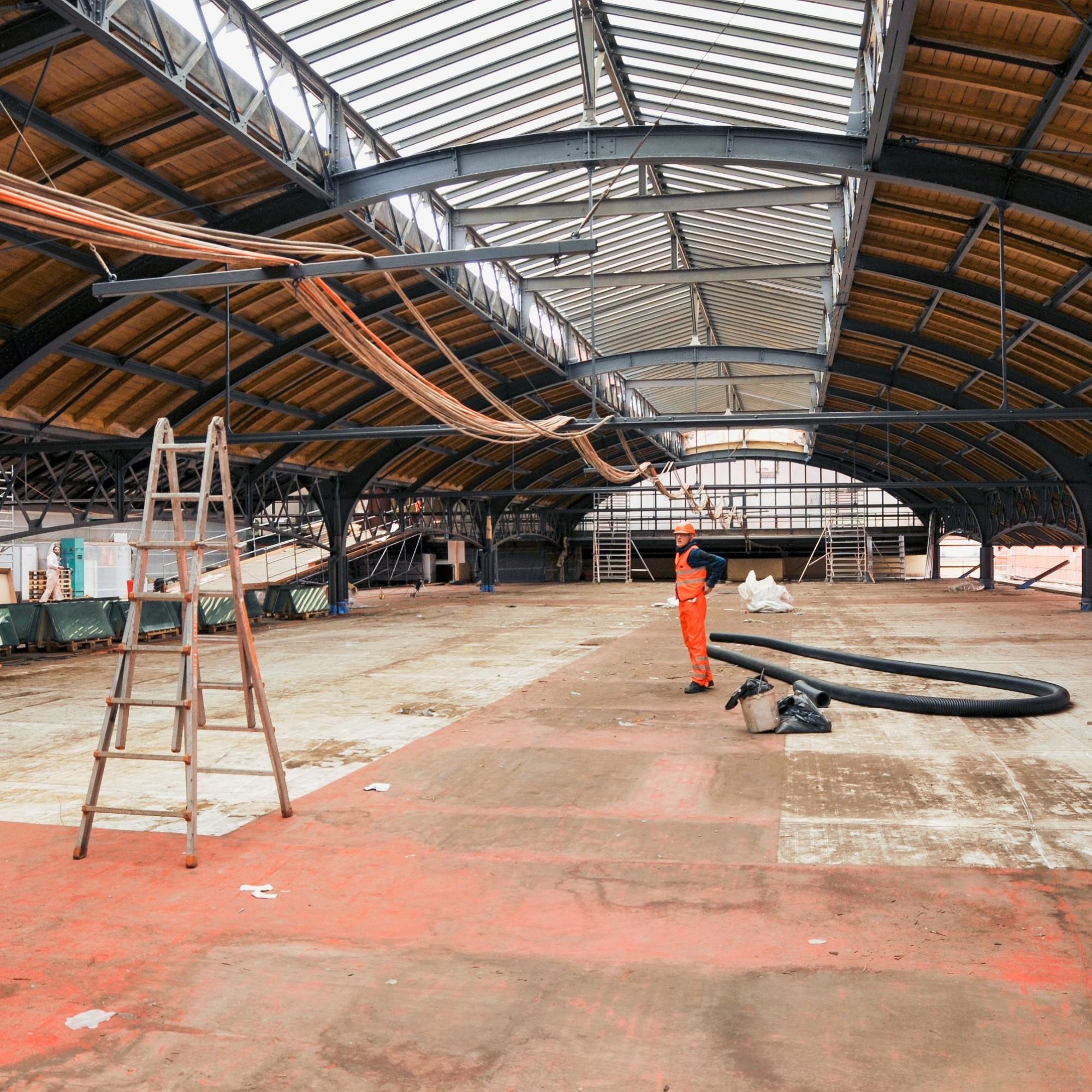Baustelle Bahnhof Basel SBB