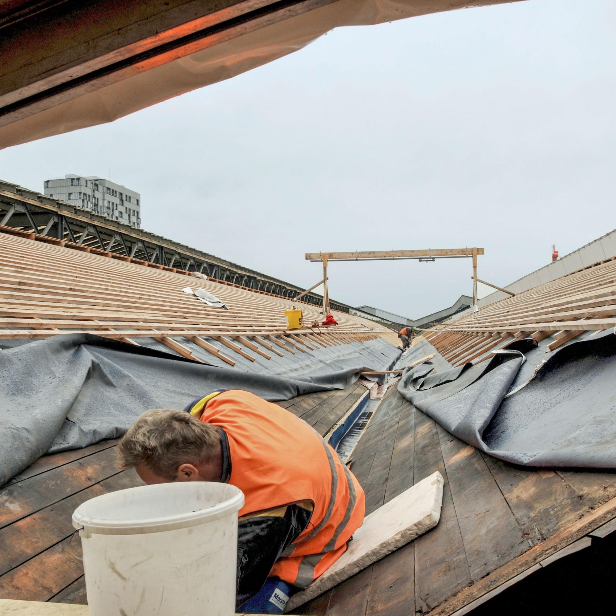 Baustelle Sanierung Bahnhof Basel SBB