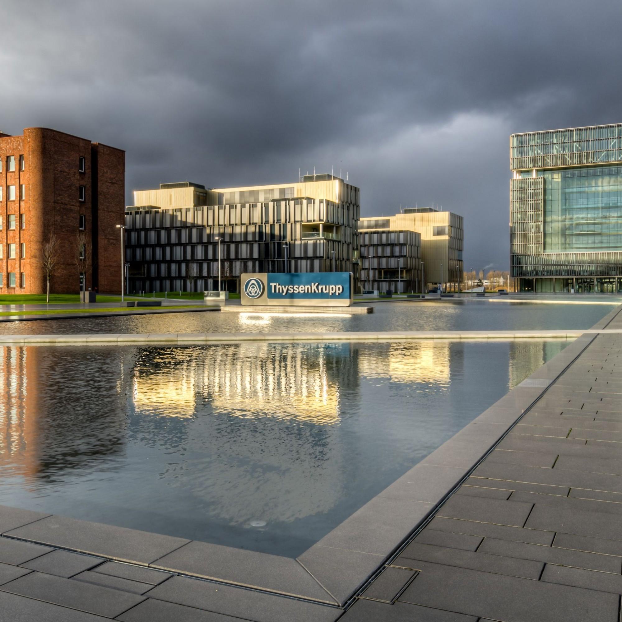 Der Hauptsitz von Thyssenkrupp in Essen.