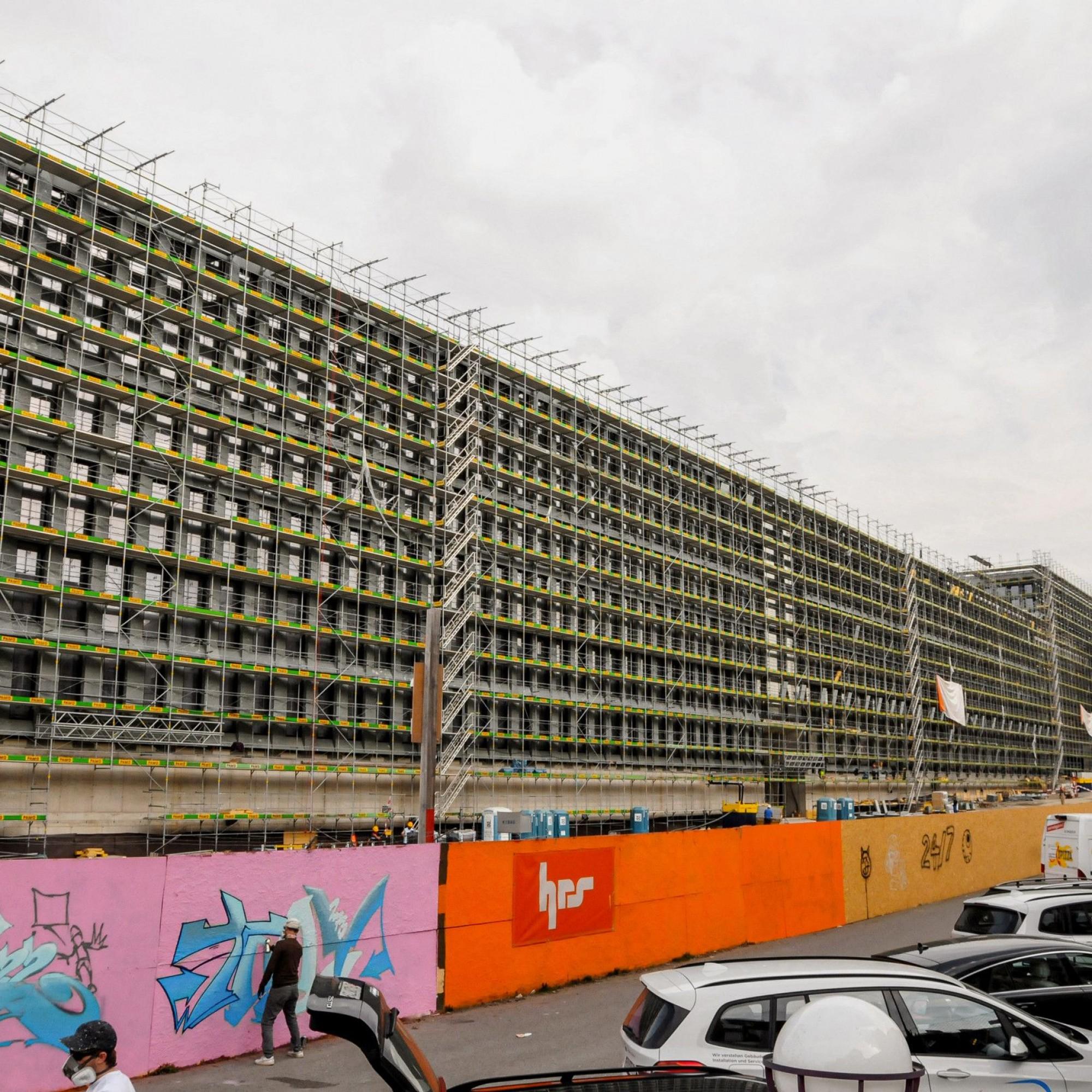 Neubau des Polizei- und Justizzentrums in Zürich