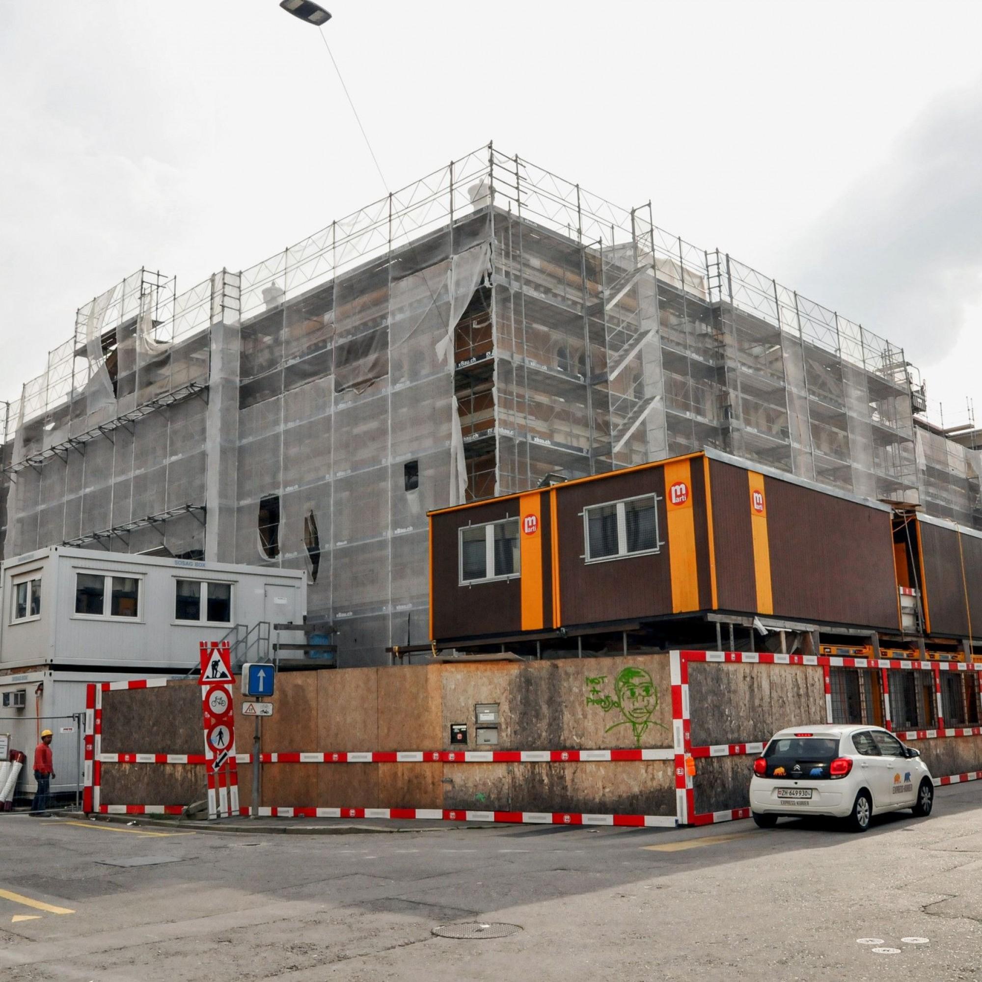 Kongresshaus-Sanierung in Zürich