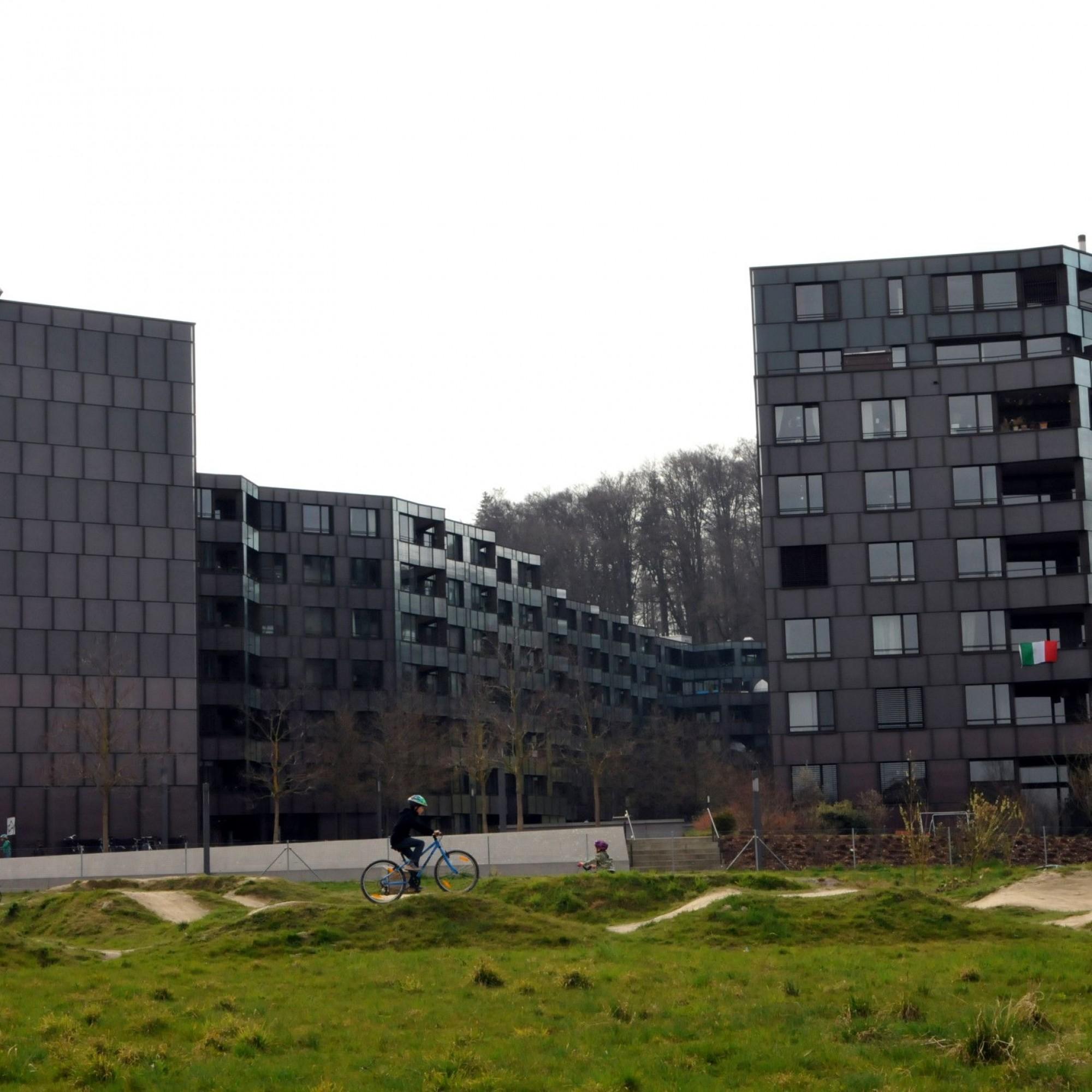 Neue Wohnsiedlung beim Bucheggplatz in Zürich
