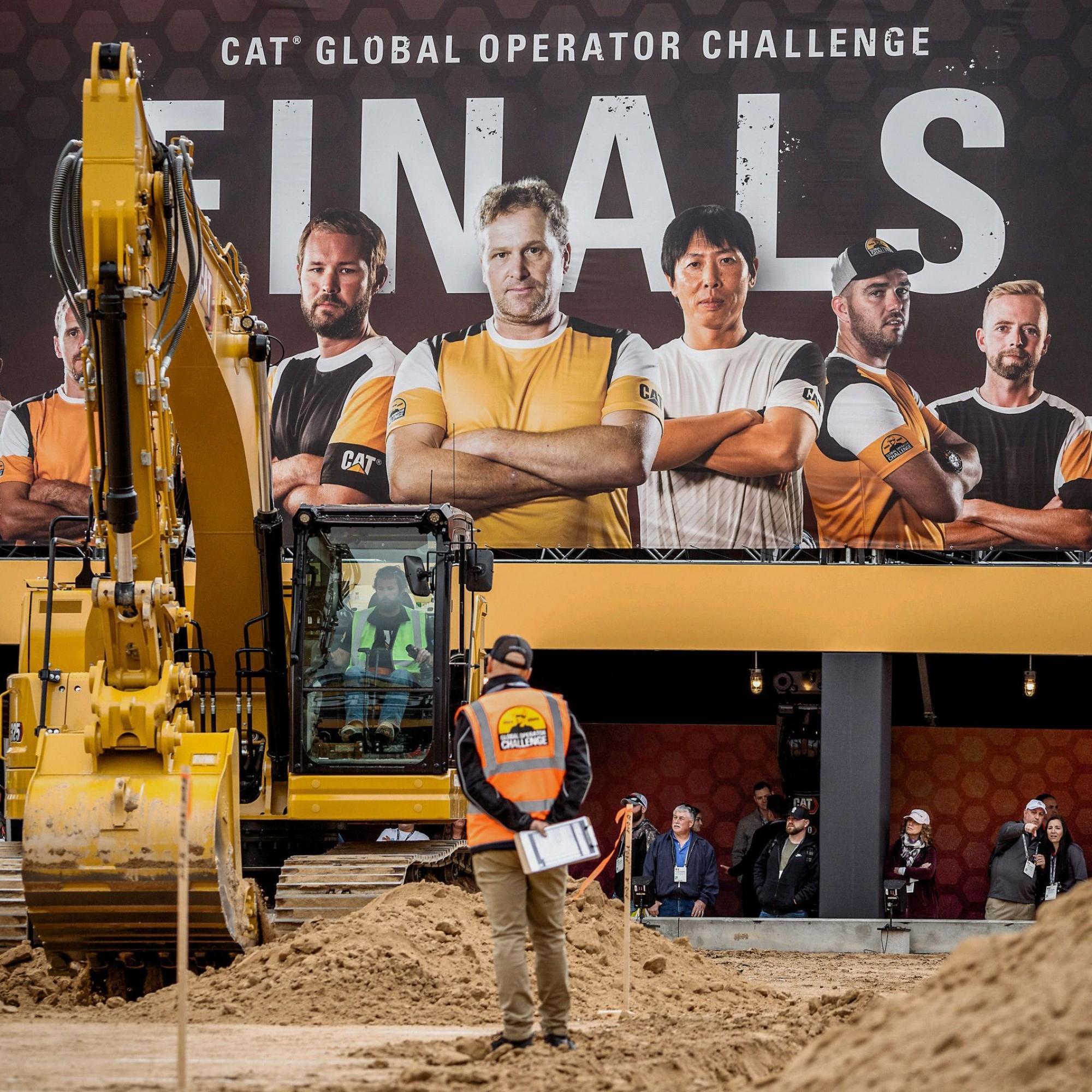 Baumaschinen-Weltmeisterschaft in Las Vegas