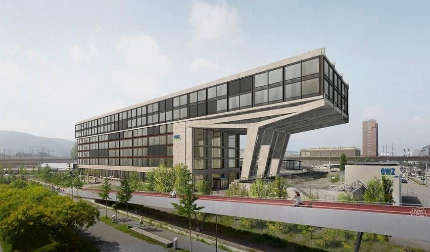 Neubau der EWZ in Herdern,Zürich