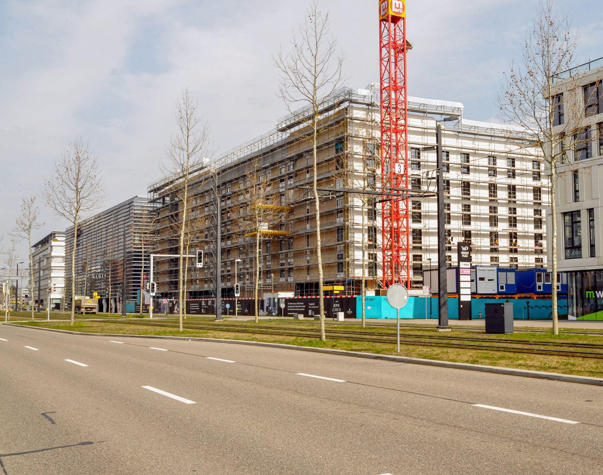 Hotel Joyn Living inZürich-Oerlikon beim Glattpark.
