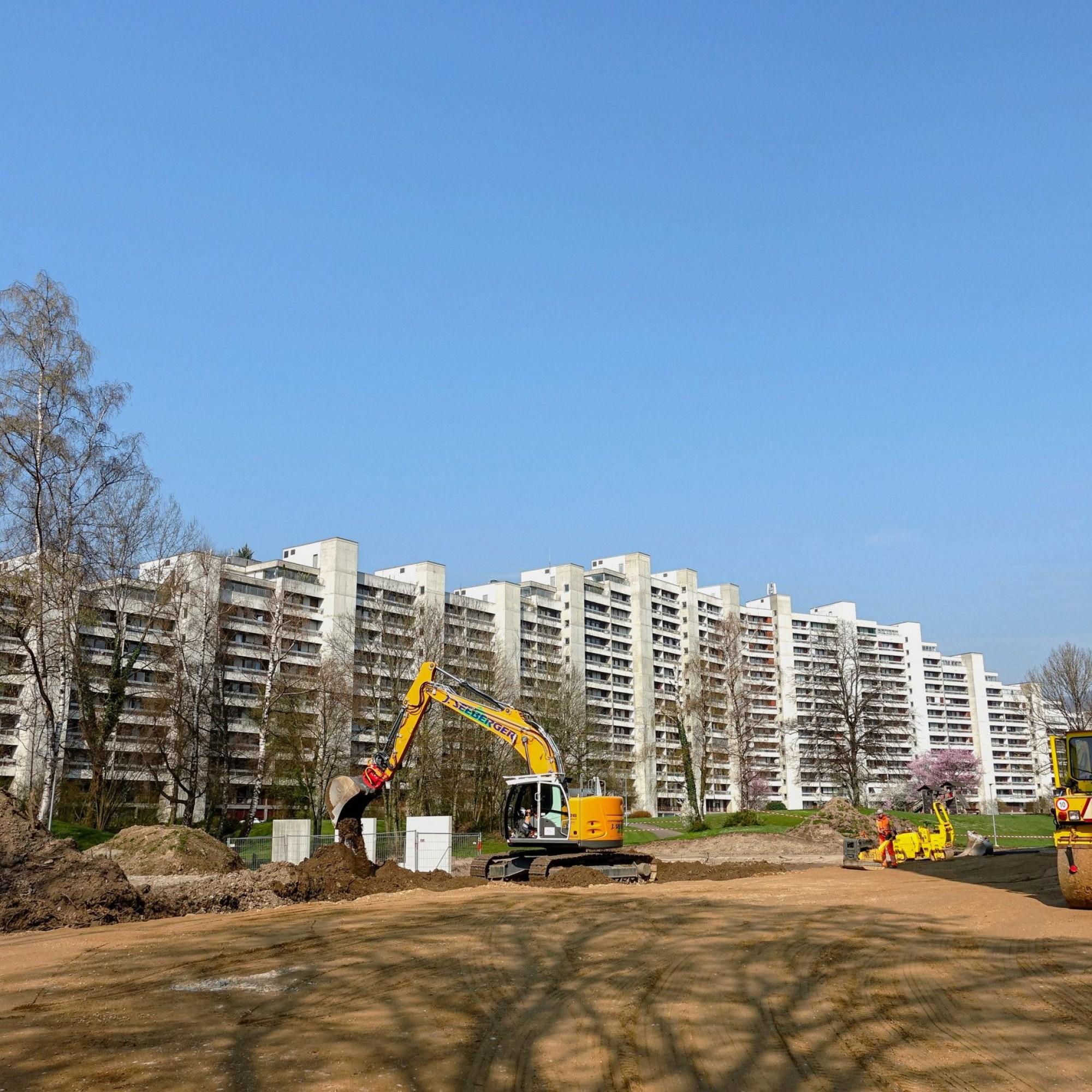 Sanierung der Telli-Wohnhochhäuser in Aarau