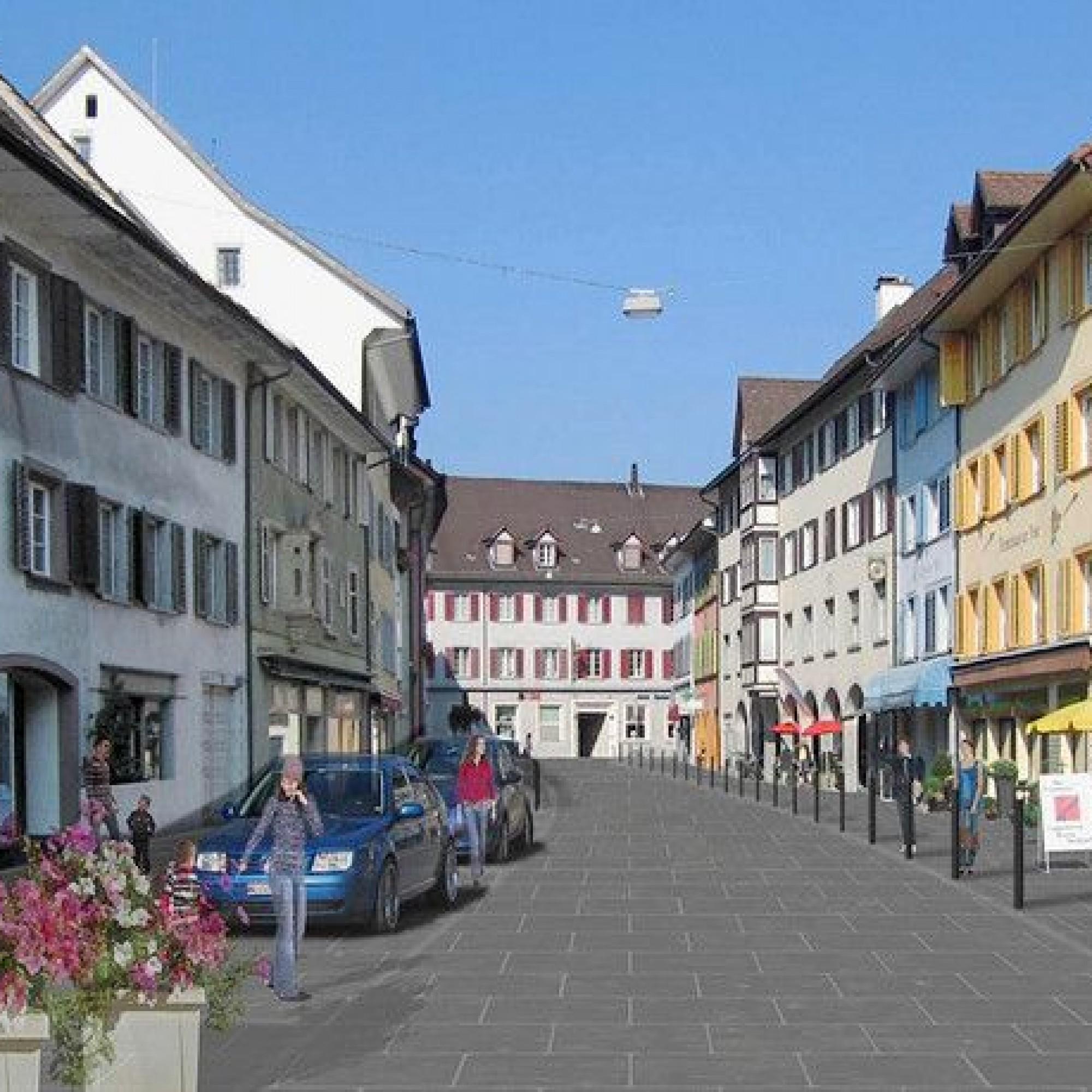 Ortskern von Bad Zurzach