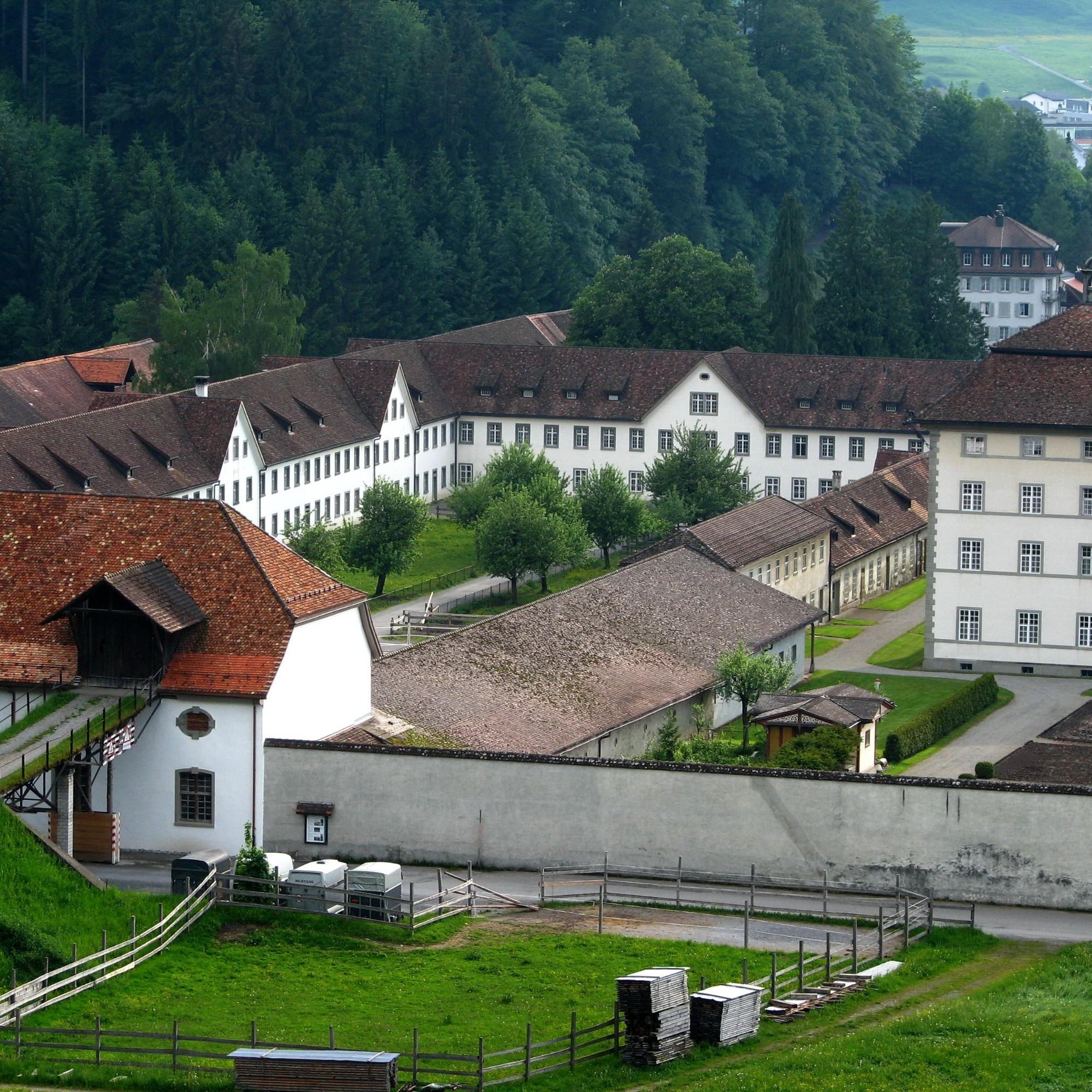 Kloster Einsiedeln Anlage