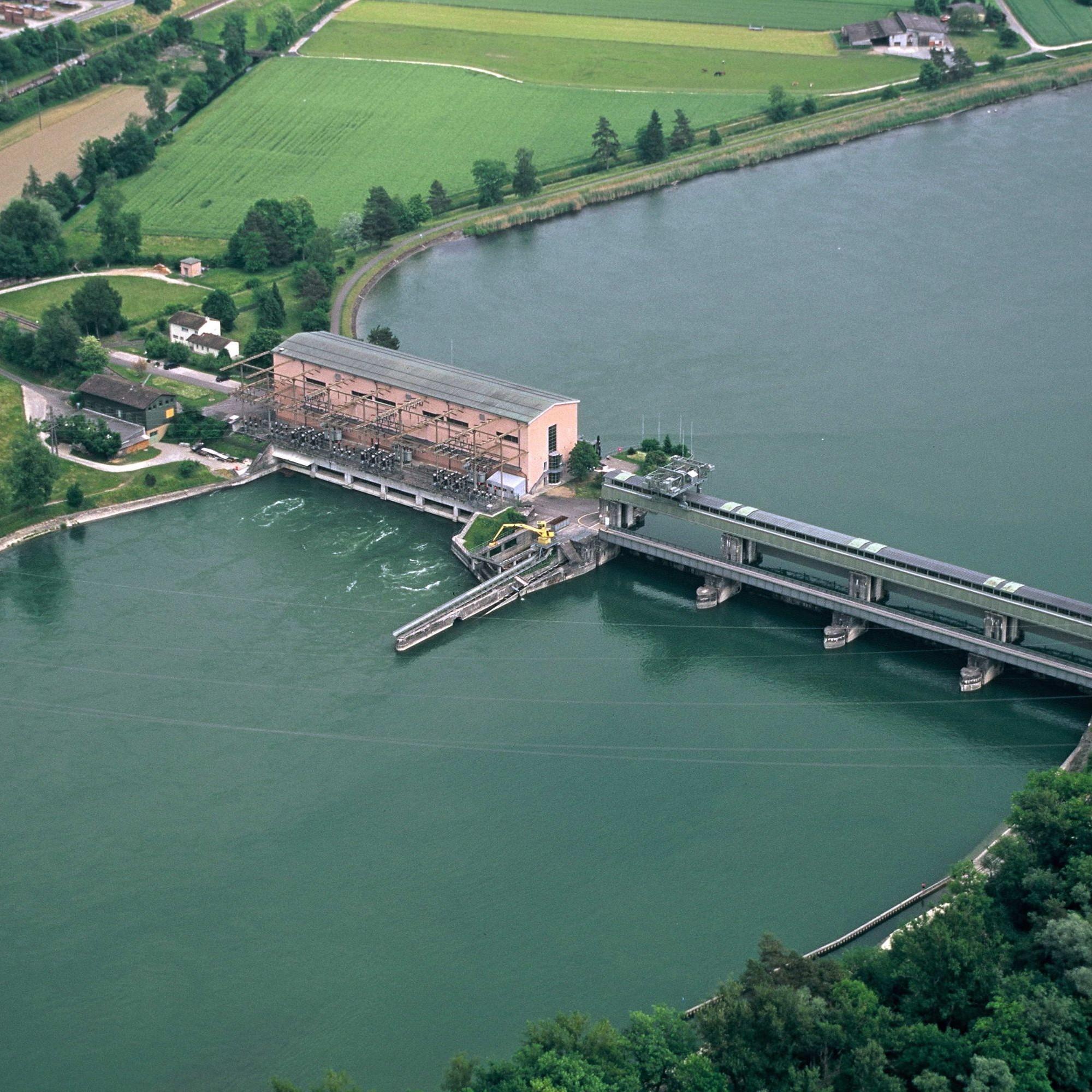 Aarekraftwerk Klingnau