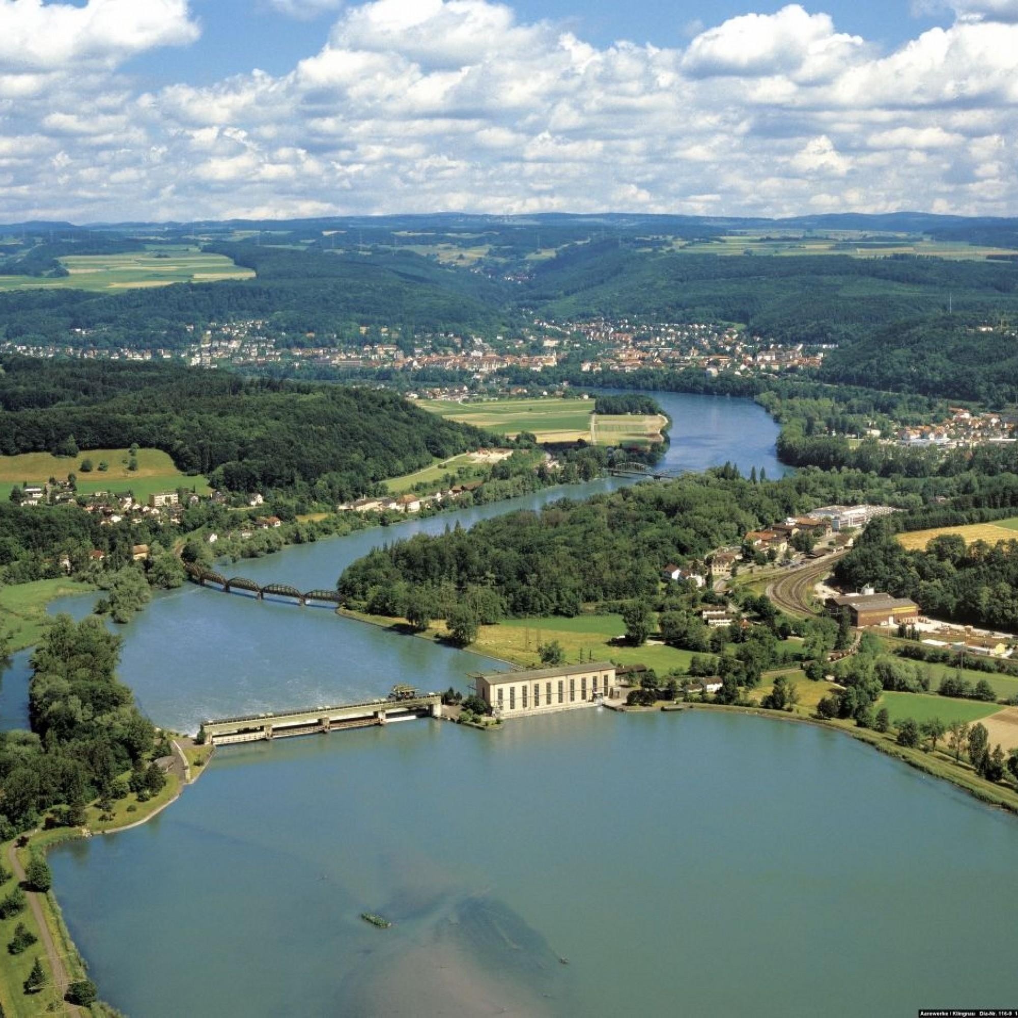 Klingnauer Wasserkraftwerk