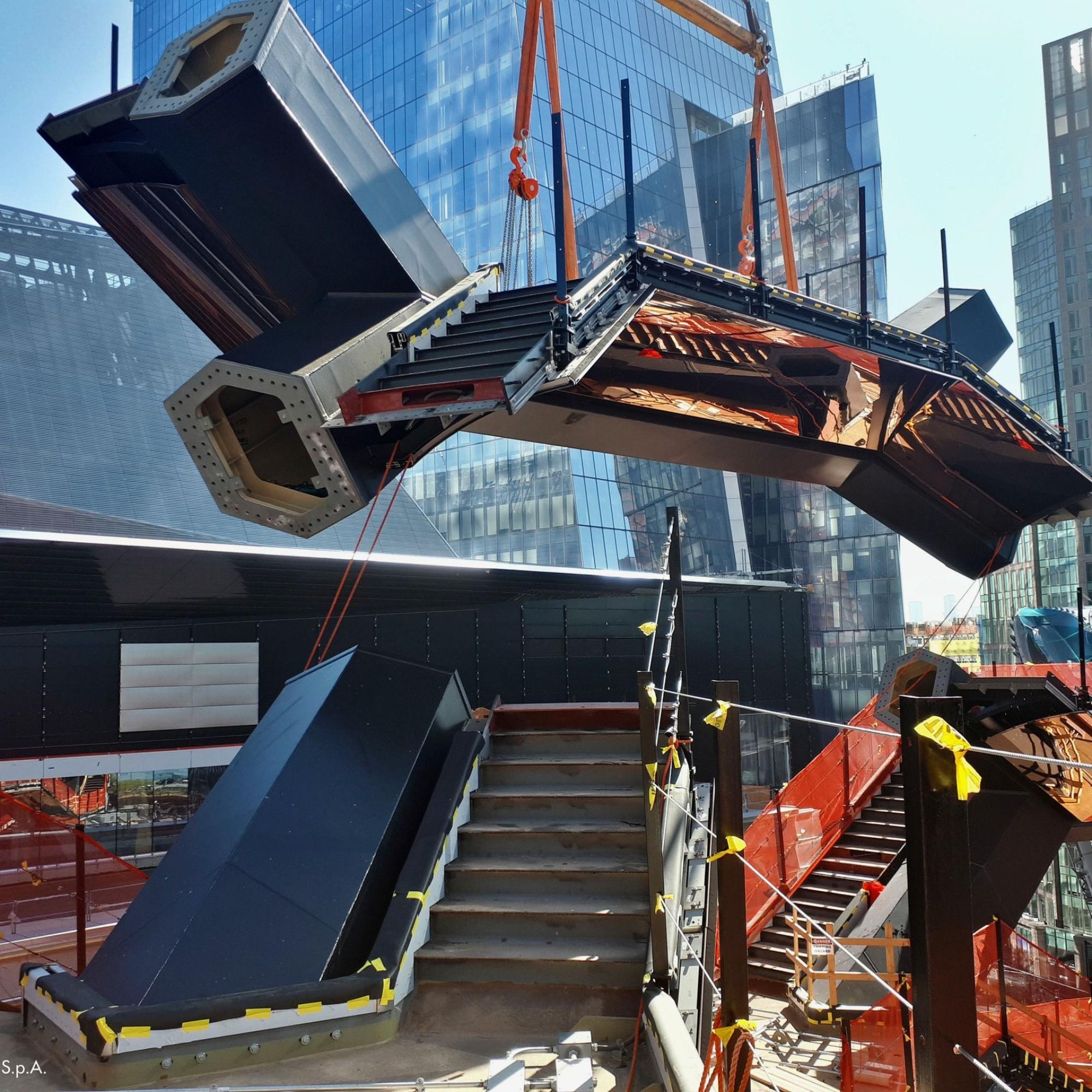 The Vessel in New York