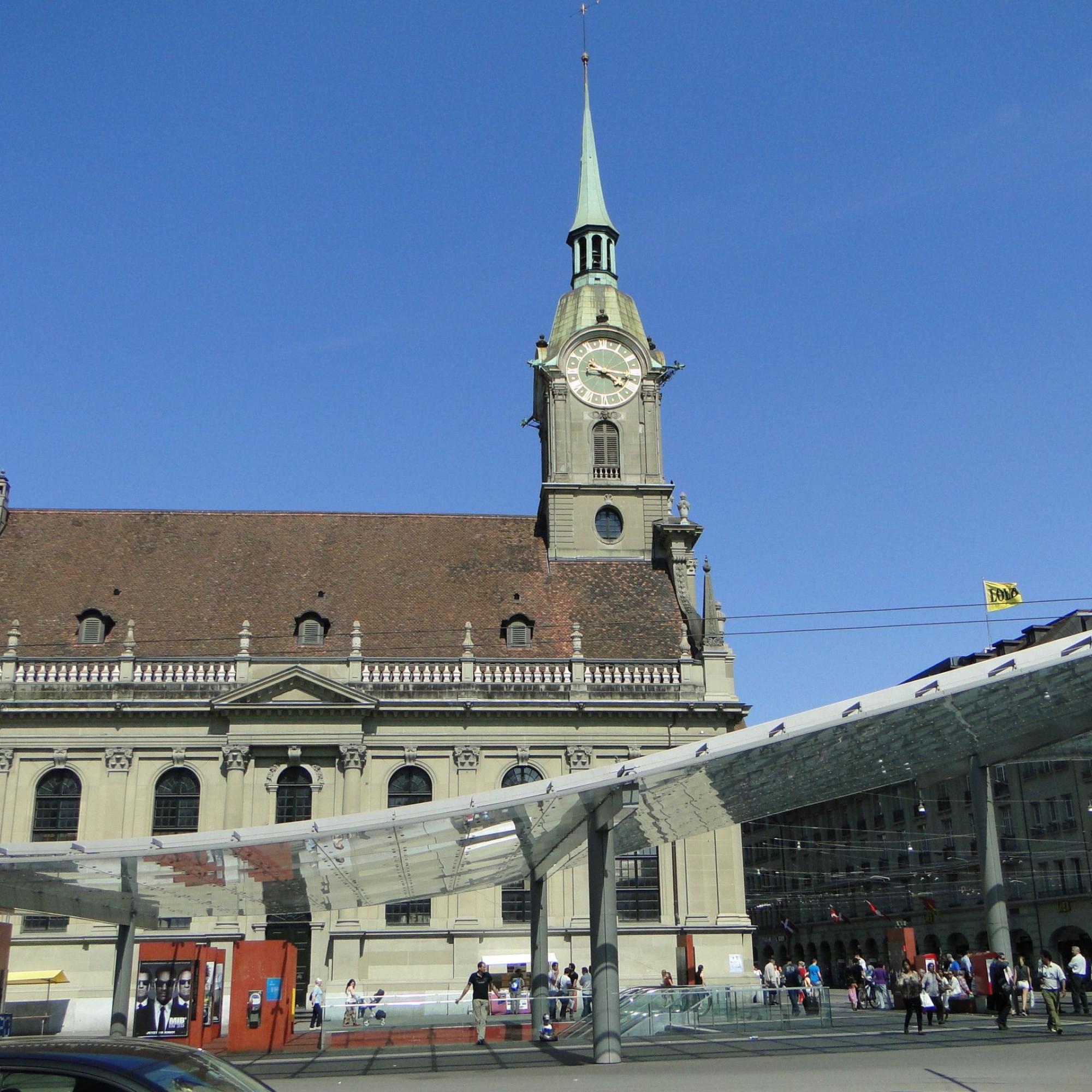 Heiliggeistkirche beim Bahnhof Bern