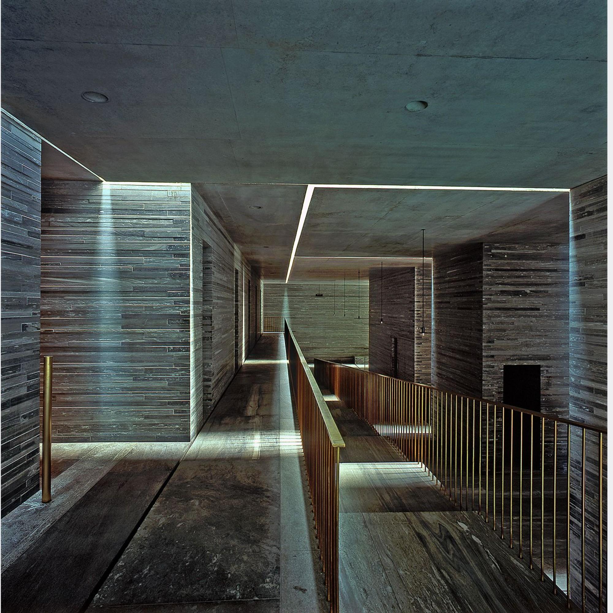 Innenraum, Therme Vals, Peter Zumthor.