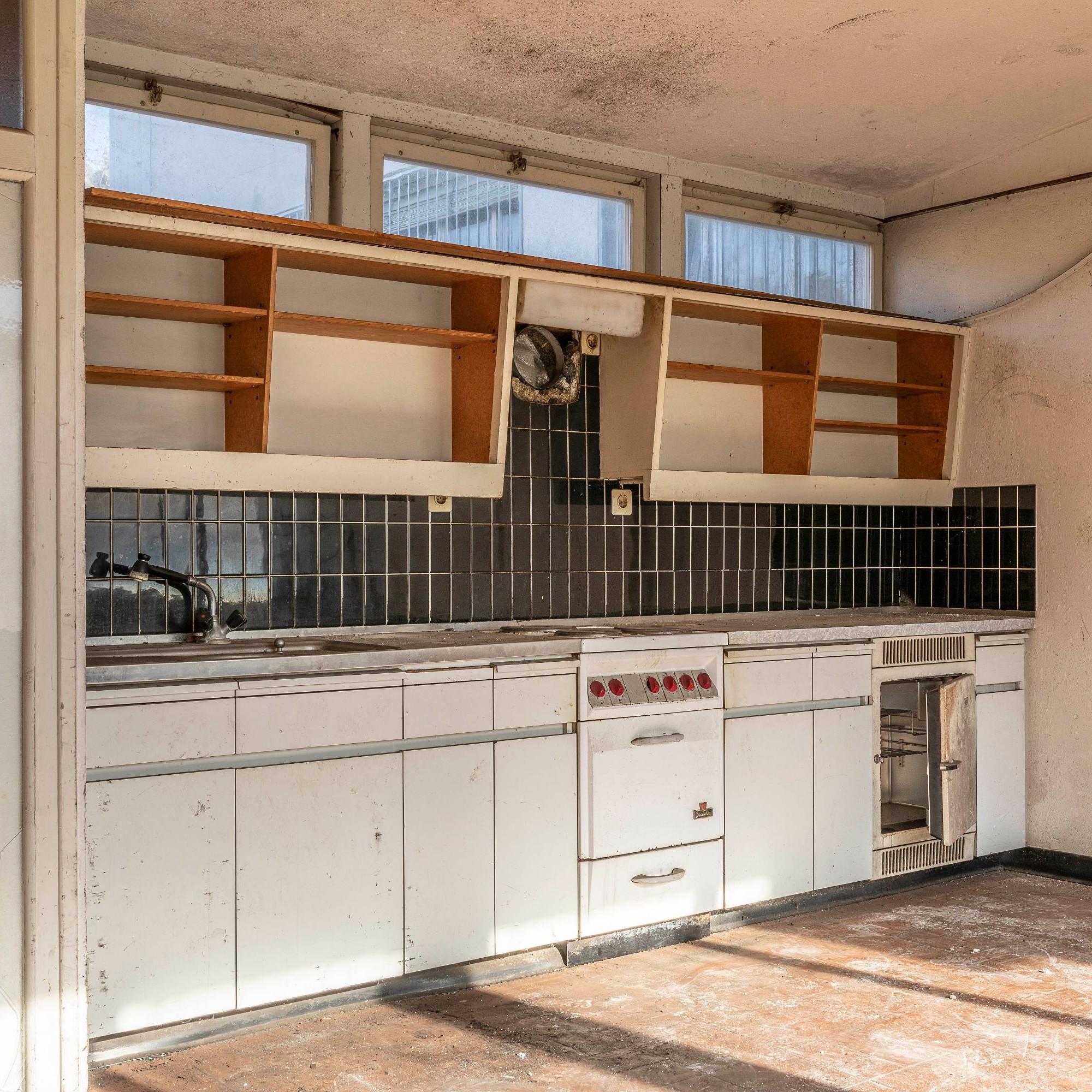 Saffa-Pavillon, Küche