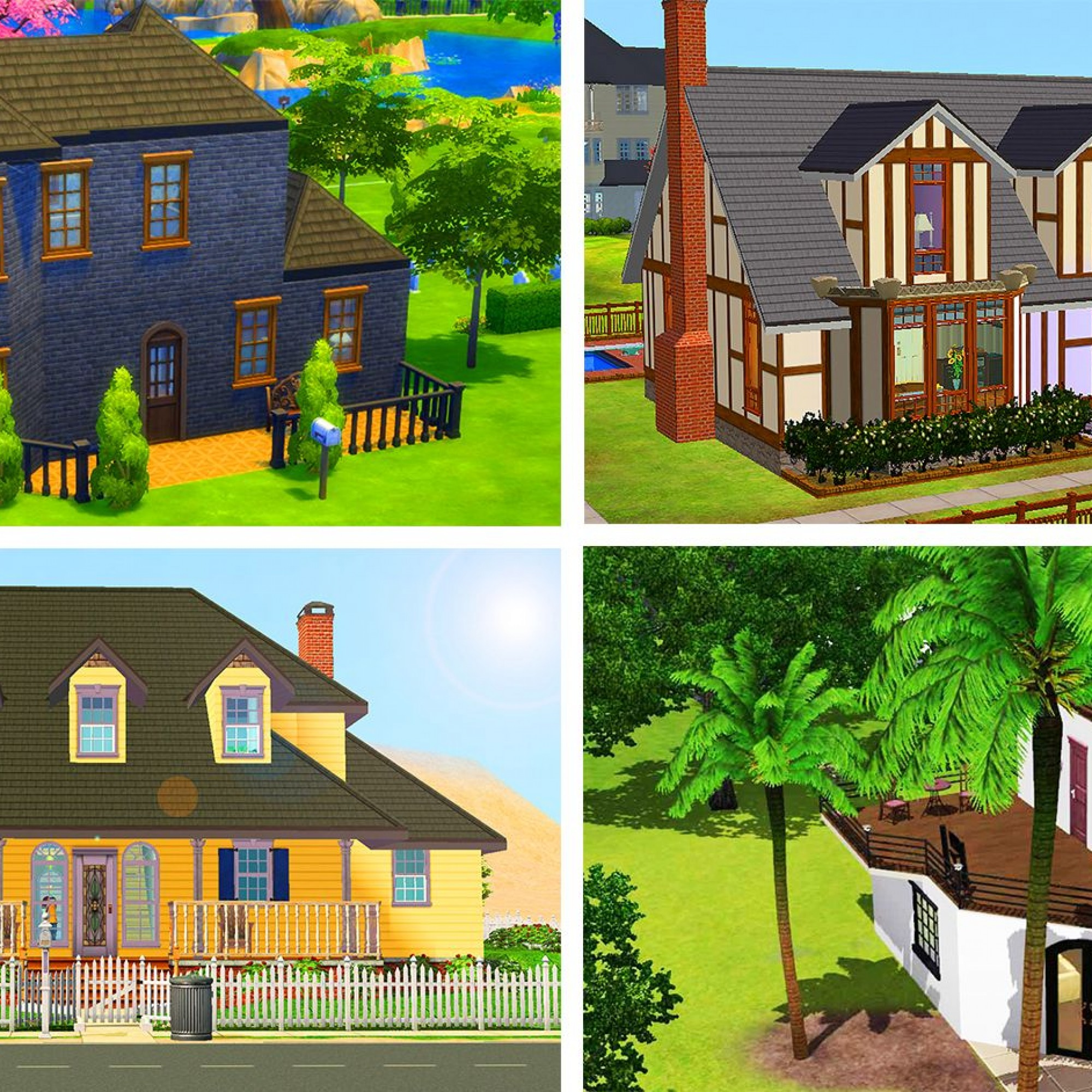 20 Jahre Sims Sechs legendäre Gebäude neu illustriert   Baublatt