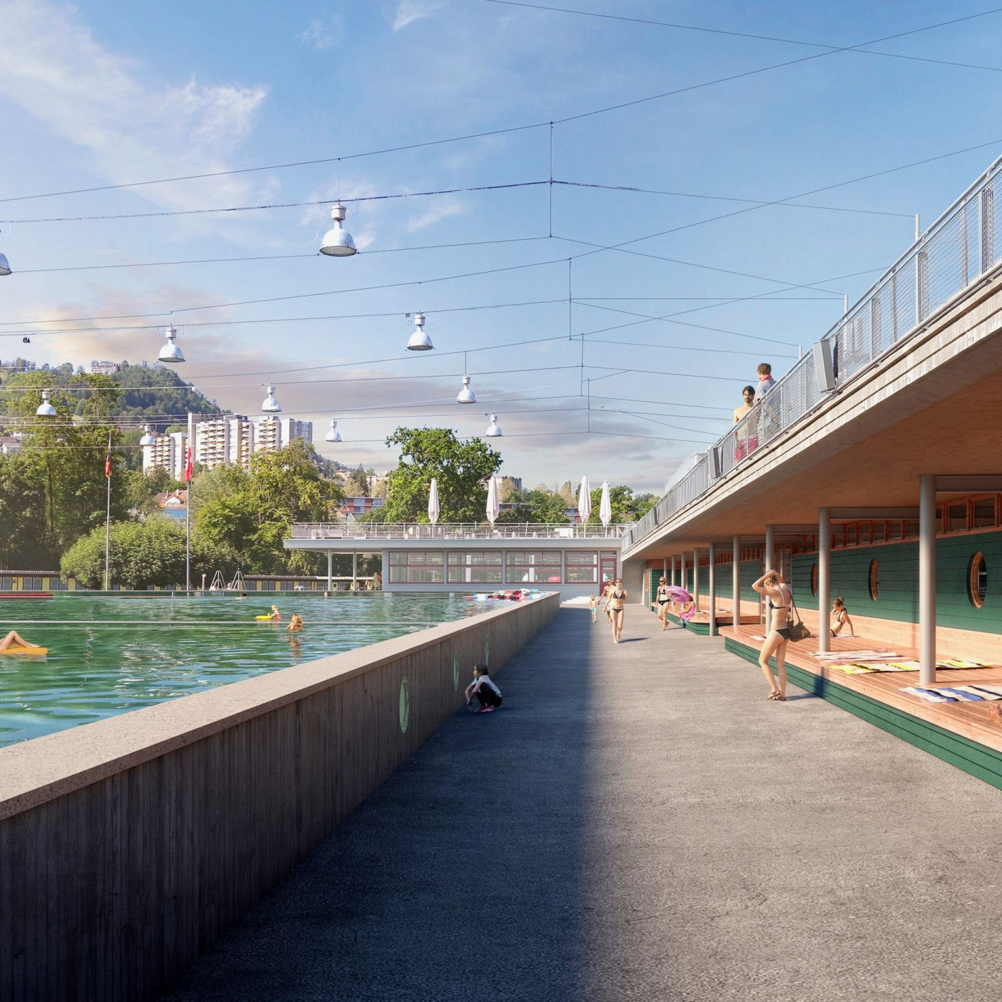 Visualisierung Ka-We-De in Bern