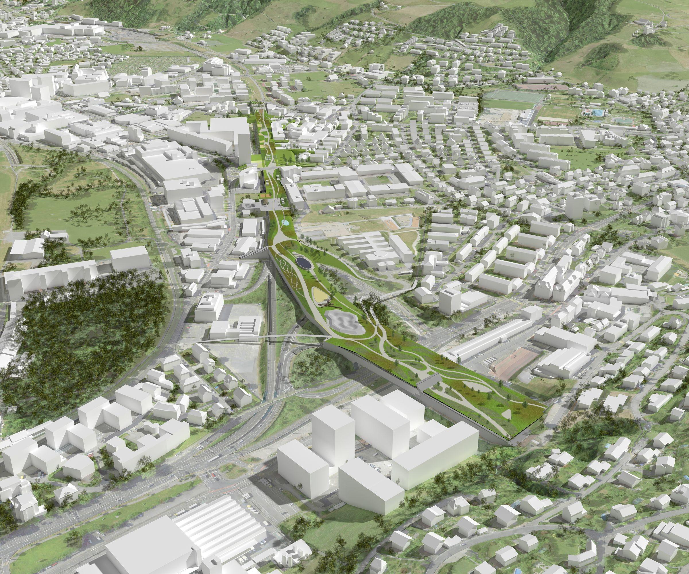 Vision «Chance Bypass» aus Richtung Sonnenberg