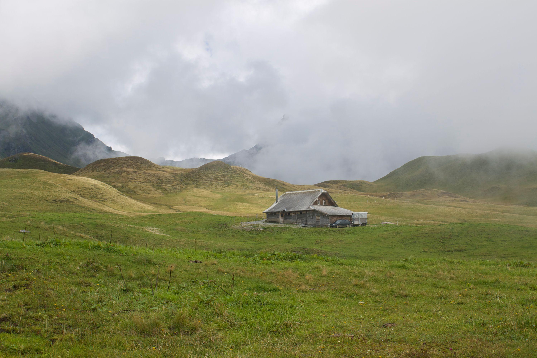 Bauernhaus auf der Tannalp