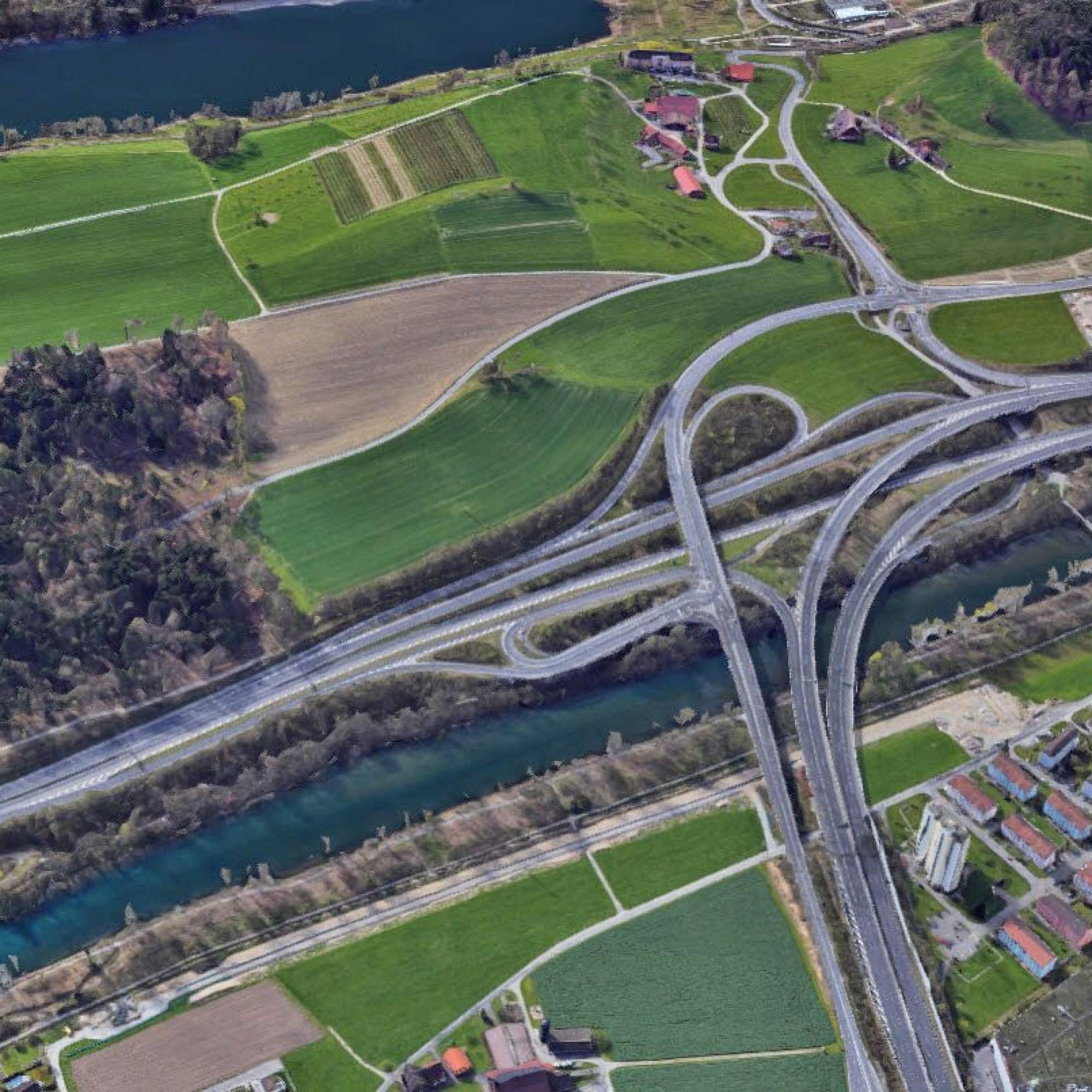 Verzweigung Rotsee Luzern
