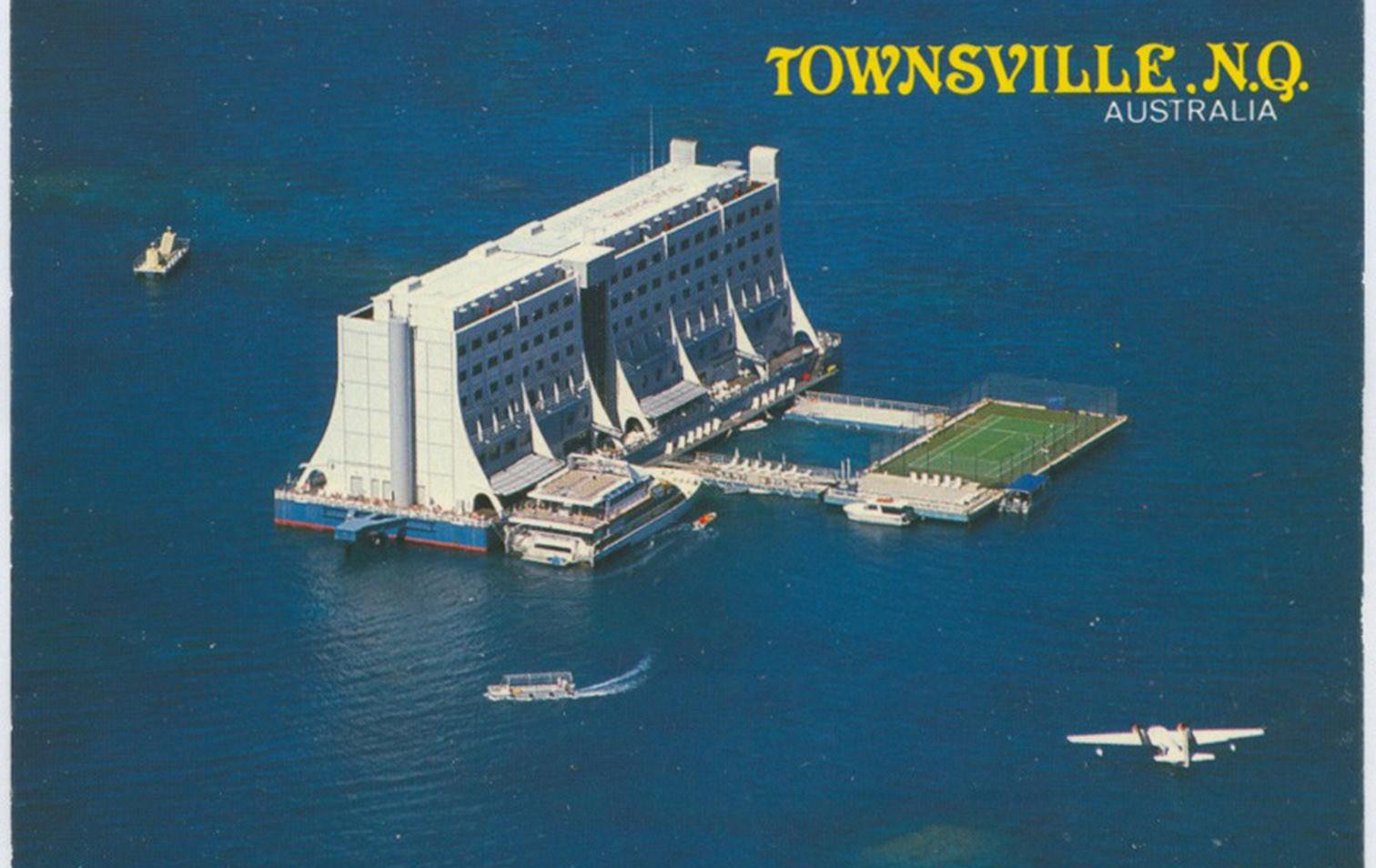 Weltweit erstes schwimmendes Hotel in Australien