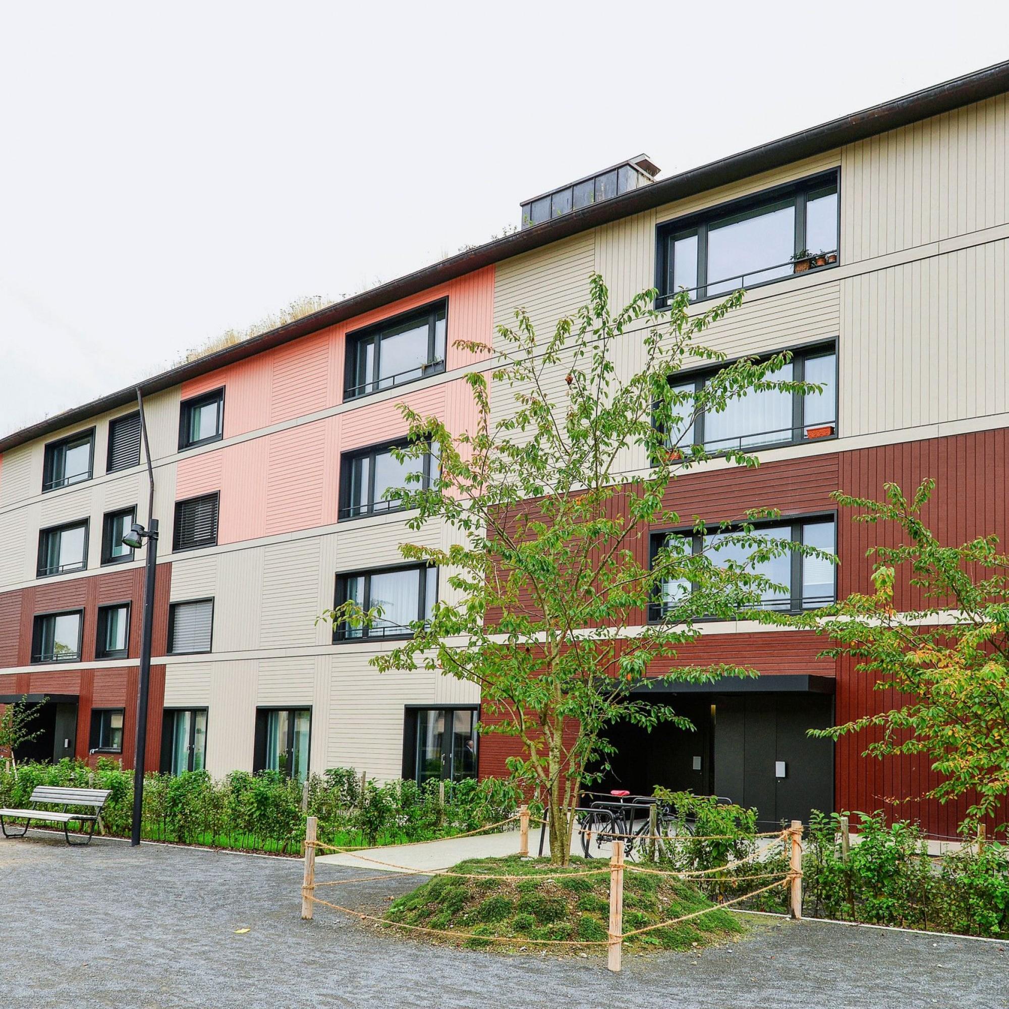 Siedlung Grünmatt in Zürich
