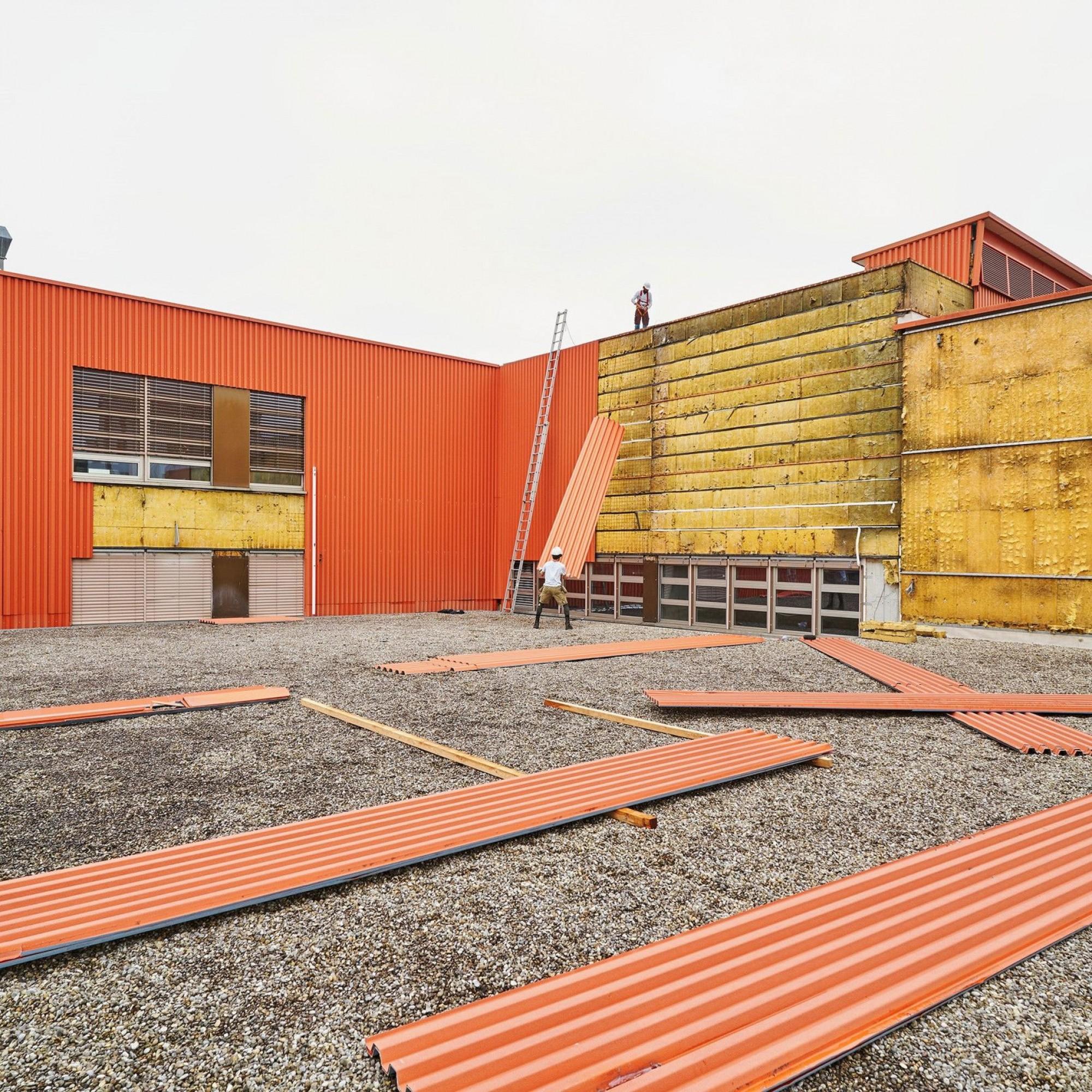 Gebäudeerweiterung beim K.118