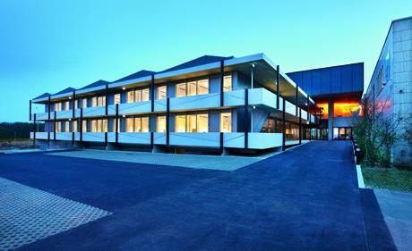 IUCN-Erweiterungsgebäude Gland (Bild: Holcim Foundation for Sustainable Construction)