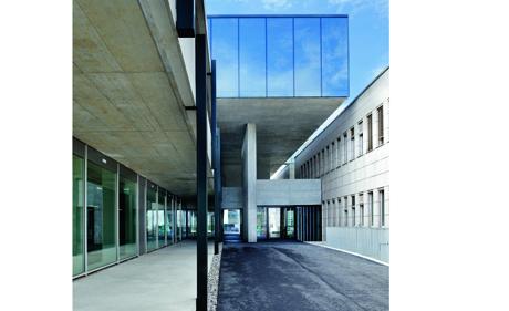 IUCN-Erweiterungsbau Eingangspartie (Bild: Holcim Foundation for Sustainable Construction)