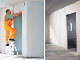 Die massiven Ytong Trennwandelemente setzten neue Standards in einem aktuellen Projekt der Vetsch Bau AG.